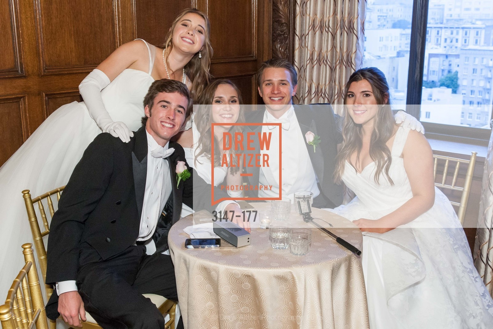 Joseph Jennison Ladd, Paloma Palmer, Connolly Grace Steigerwald, Ryan Nicholas Clark, Diana Laura Silvestri, The 2015 San Francisco Debutante Ball, The Westin St. Francis San Francisco Union Square. 335 Powell St, June 20th, 2015,Drew Altizer, Drew Altizer Photography, full-service agency, private events, San Francisco photographer, photographer california