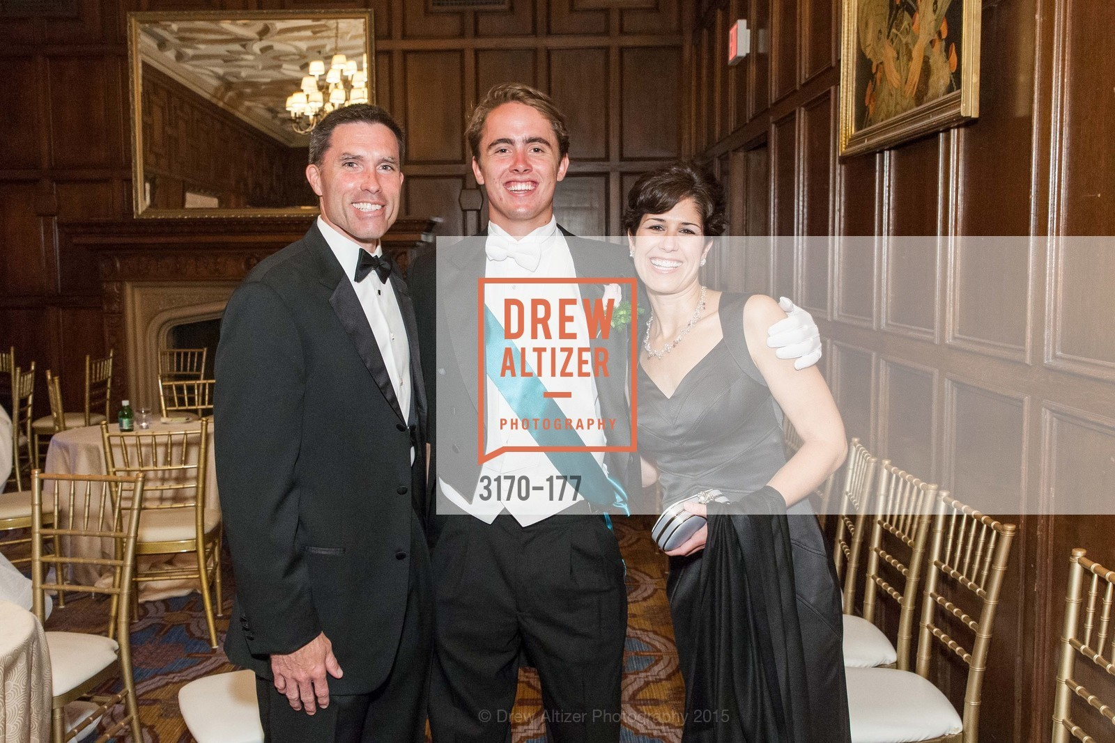 Patrick Ruff, Henry Buckingham, Kerry Ann Ruff, The 2015 San Francisco Debutante Ball, The Westin St. Francis San Francisco Union Square. 335 Powell St, June 20th, 2015,Drew Altizer, Drew Altizer Photography, full-service agency, private events, San Francisco photographer, photographer california
