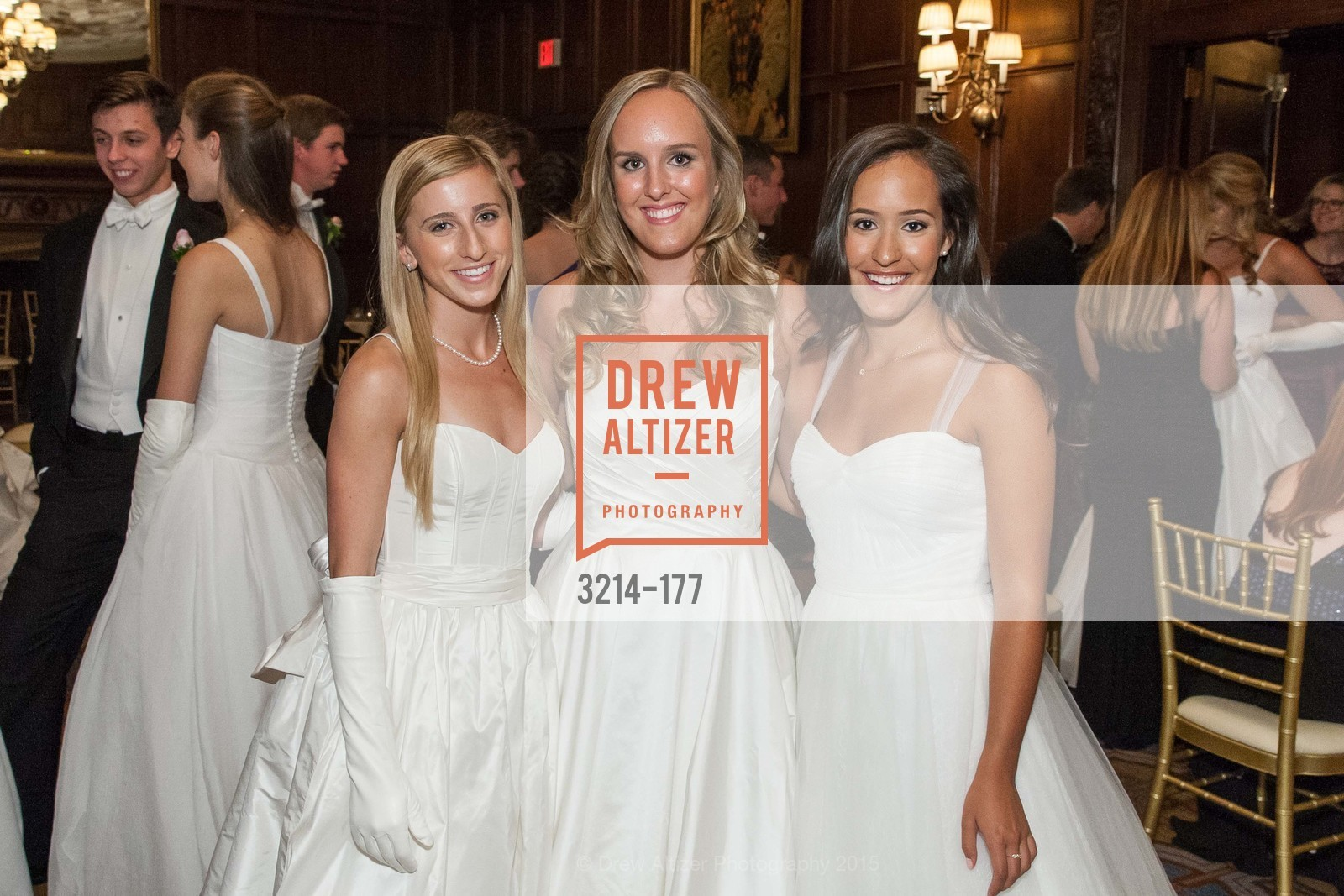 Mary Grinnell, Katarina Lina Churich, Solange Celeste Soward, The 2015 San Francisco Debutante Ball, The Westin St. Francis San Francisco Union Square. 335 Powell St, June 20th, 2015,Drew Altizer, Drew Altizer Photography, full-service agency, private events, San Francisco photographer, photographer california