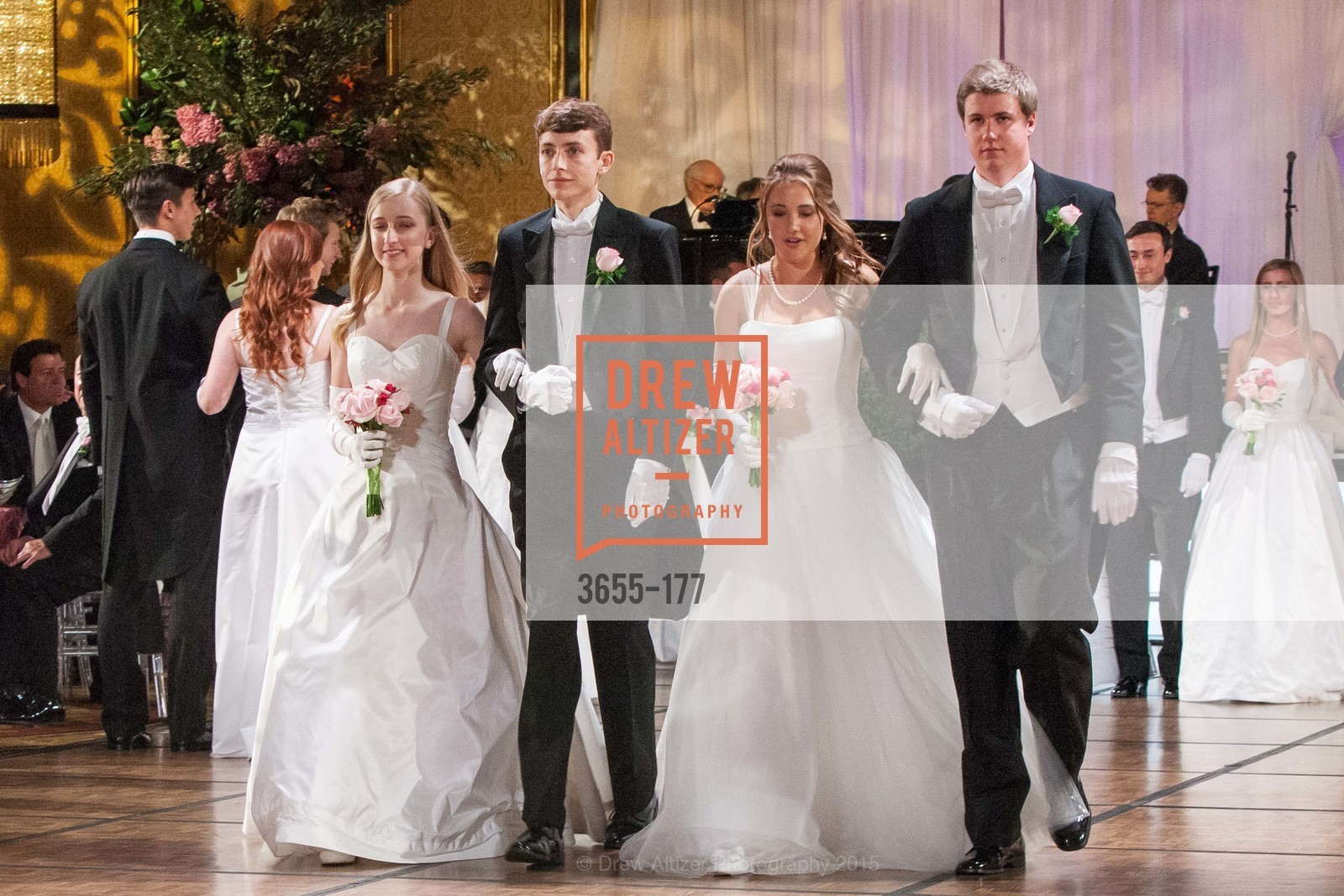 Brooke Emily Raabe, Alexander James Douglas, Paloma Elizabeth Palmer, John Bernard Travers, The 2015 San Francisco Debutante Ball, The Westin St. Francis San Francisco Union Square. 335 Powell St, June 20th, 2015,Drew Altizer, Drew Altizer Photography, full-service agency, private events, San Francisco photographer, photographer california