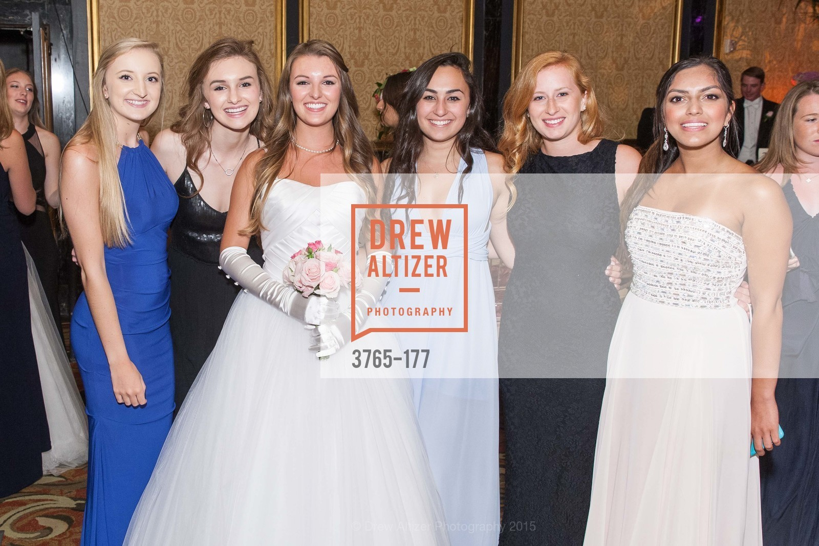 Emma Kelly, Emily Fobes, Rachael Jayne Maier, Danielle McCaughly, Sammy Ferroggiaro, Kismet Kumar, The 2015 San Francisco Debutante Ball, The Westin St. Francis San Francisco Union Square. 335 Powell St, June 20th, 2015,Drew Altizer, Drew Altizer Photography, full-service agency, private events, San Francisco photographer, photographer california