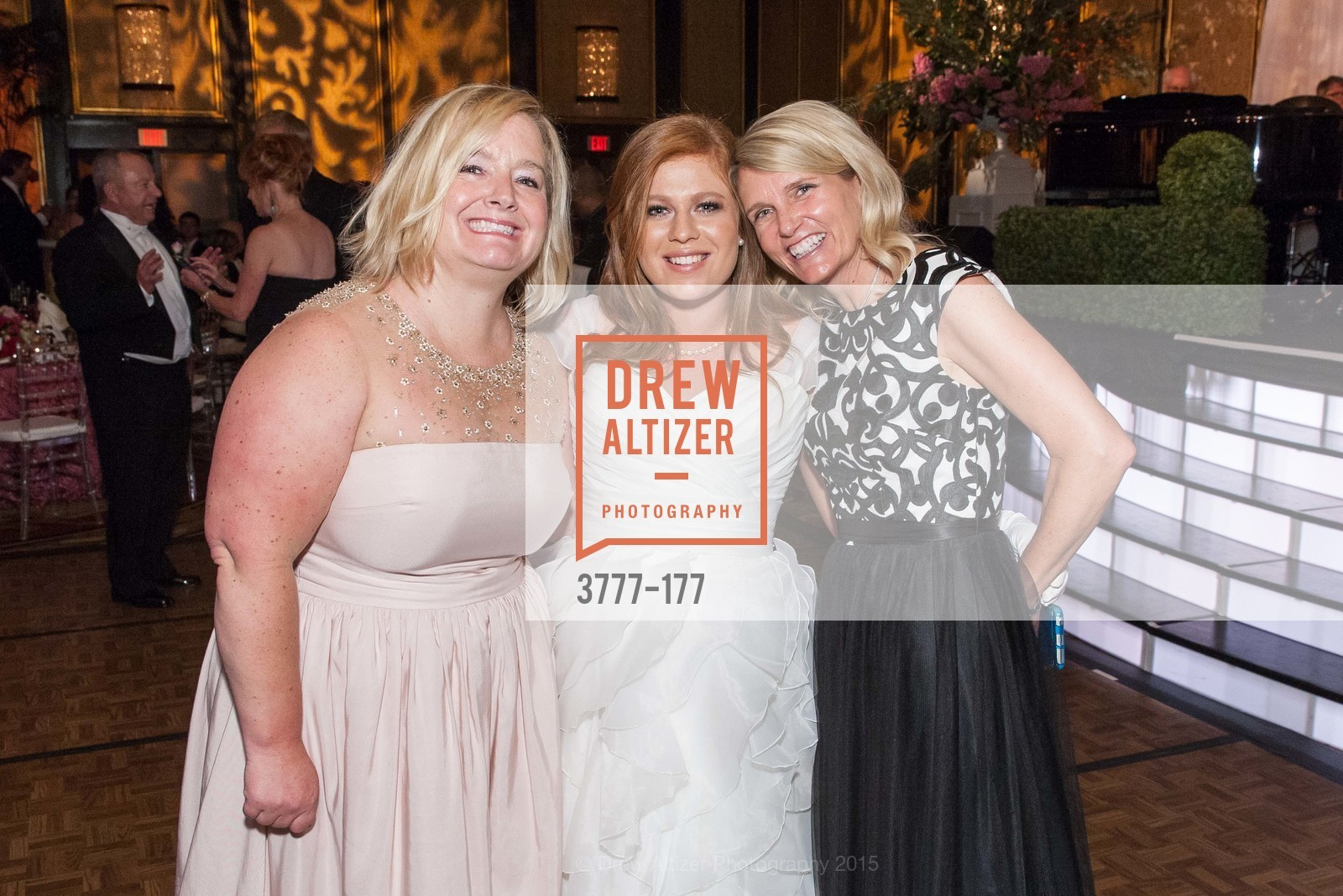 Patricia Foster, Allaire Houston Kruse, Harriet Love, The 2015 San Francisco Debutante Ball, The Westin St. Francis San Francisco Union Square. 335 Powell St, June 20th, 2015,Drew Altizer, Drew Altizer Photography, full-service agency, private events, San Francisco photographer, photographer california