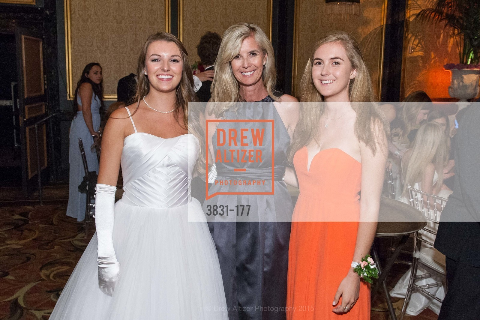 Rachael Jayne Maier, Elizabeth Kennedy, Christina Kennedy, The 2015 San Francisco Debutante Ball, The Westin St. Francis San Francisco Union Square. 335 Powell St, June 20th, 2015,Drew Altizer, Drew Altizer Photography, full-service agency, private events, San Francisco photographer, photographer california