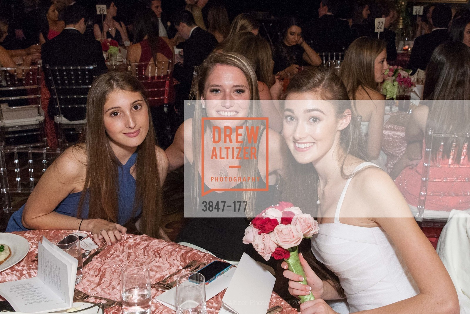 Clara Mora, Caroline Granap, Madeleine Elizabeth Lamm, The 2015 San Francisco Debutante Ball, The Westin St. Francis San Francisco Union Square. 335 Powell St, June 20th, 2015,Drew Altizer, Drew Altizer Photography, full-service agency, private events, San Francisco photographer, photographer california