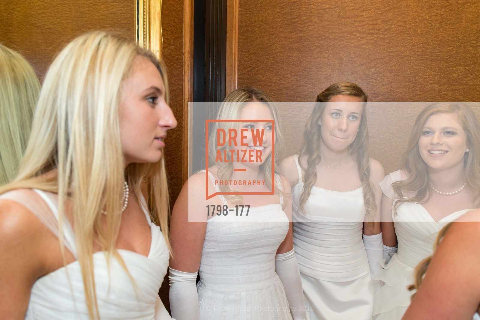 Mary Grinnell, Katherine Harris, Sarah Jackmauh, Allaire Kruse, The 2015 San Francisco Debutante Ball, The Westin St. Francis San Francisco Union Square. 335 Powell St, June 20th, 2015,Drew Altizer, Drew Altizer Photography, full-service agency, private events, San Francisco photographer, photographer california