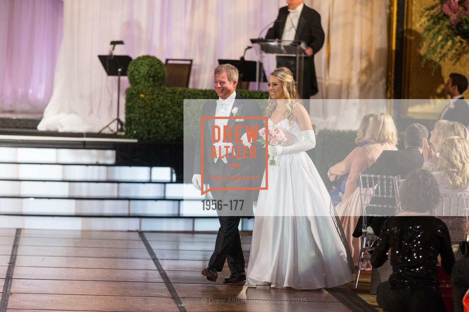 William Ellison Grayson, Elizabeth Mason Grayson, The 2015 San Francisco Debutante Ball, The Westin St. Francis San Francisco Union Square. 335 Powell St, June 20th, 2015