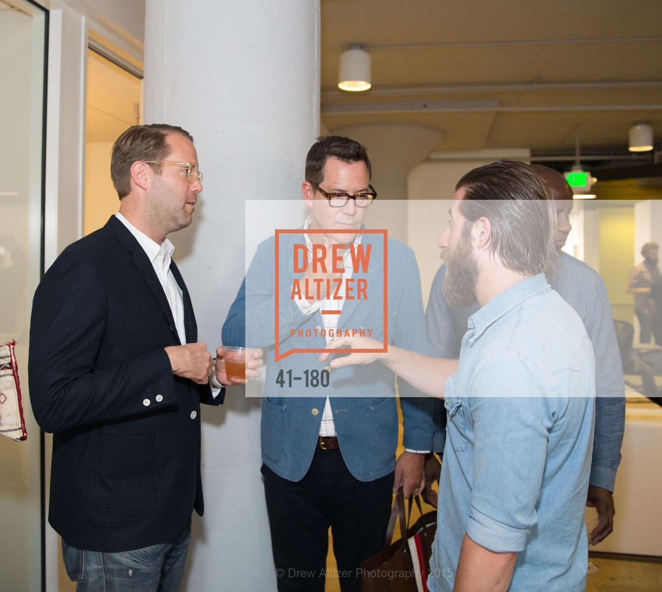 Alan Dayo, Patrick Godfrey, Billy Sorrentino, Wired Magazine July Cover Release Celebration at New Wired Office, Wired Magazine Offices. 520 3rd Street, June 24th, 2015,Drew Altizer, Drew Altizer Photography, full-service agency, private events, San Francisco photographer, photographer california
