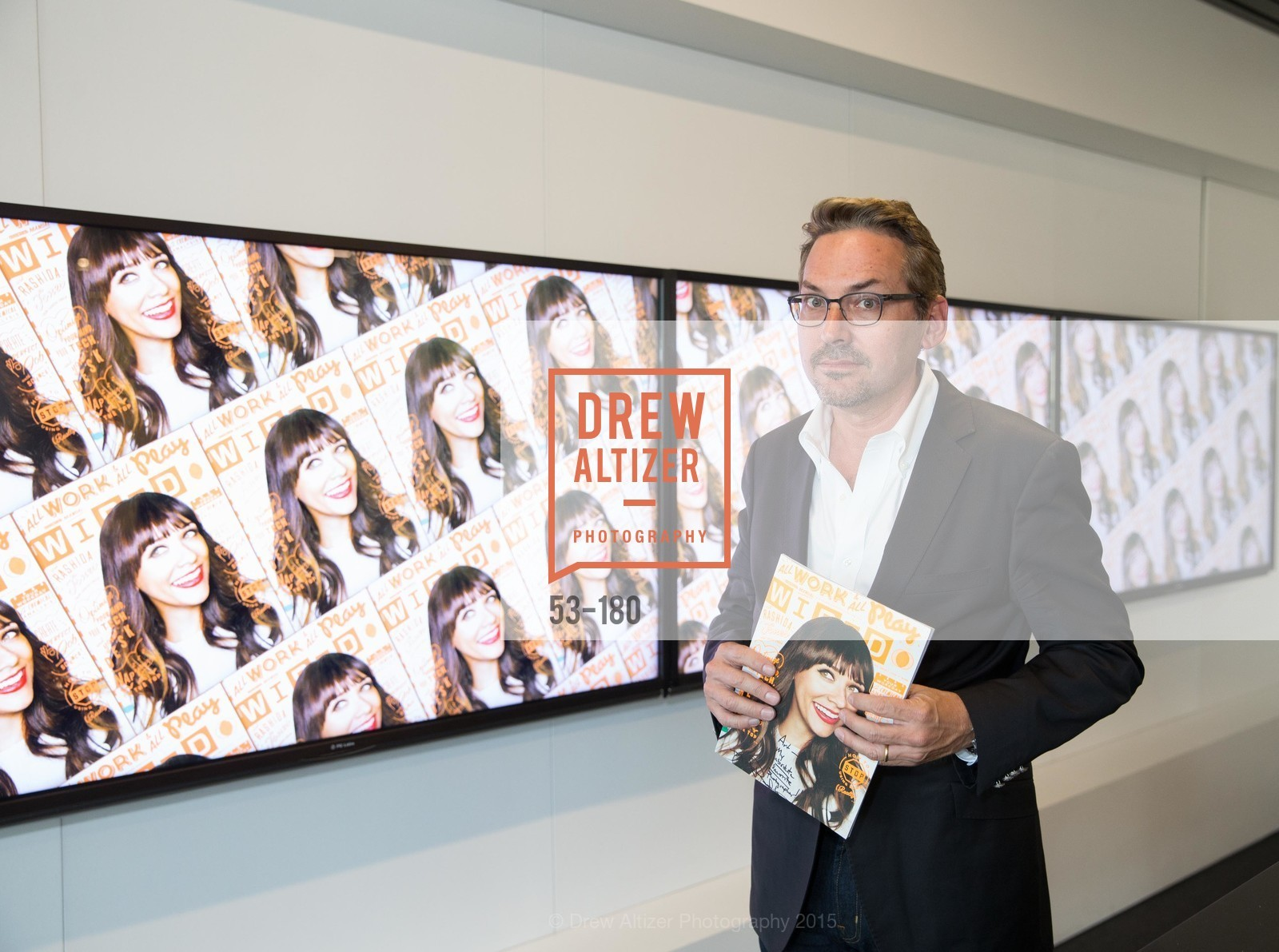 Art Streiber, Wired Magazine July Cover Release Celebration at New Wired Office, Wired Magazine Offices. 520 3rd Street, June 24th, 2015,Drew Altizer, Drew Altizer Photography, full-service agency, private events, San Francisco photographer, photographer california