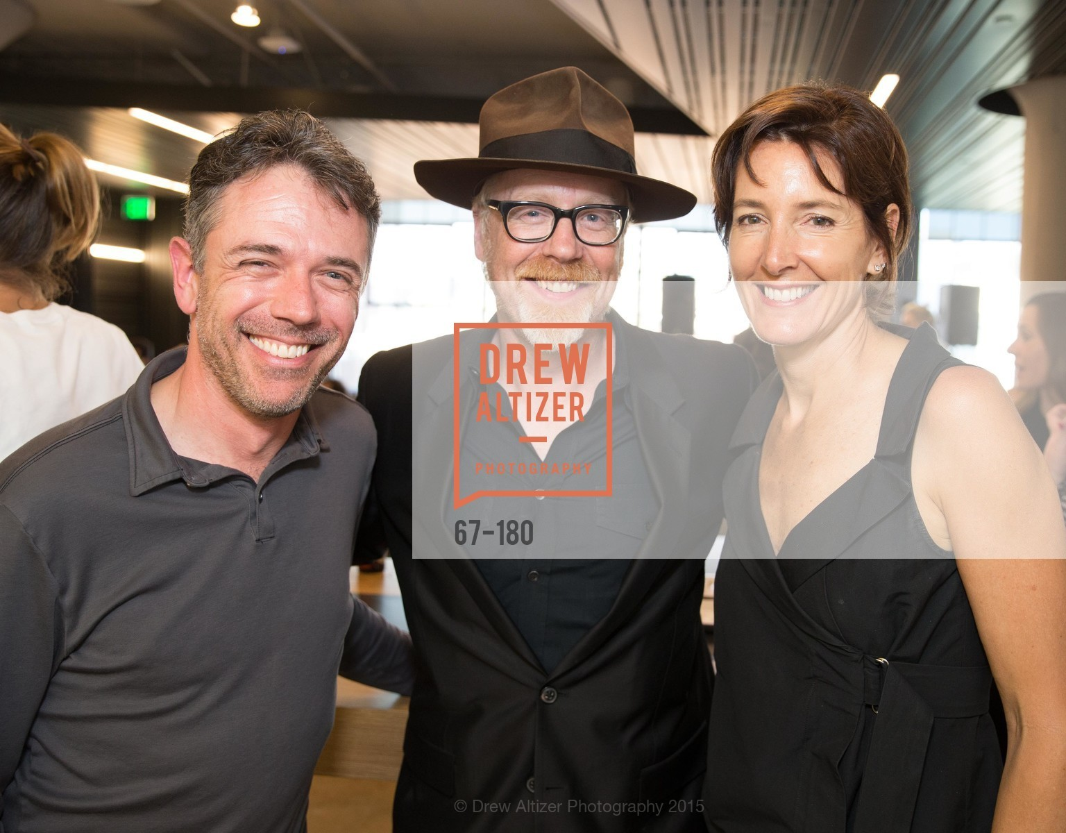 Adam Rogers, Adam Savage, Jane Metcalf, Wired Magazine July Cover Release Celebration at New Wired Office, Wired Magazine Offices. 520 3rd Street, June 24th, 2015,Drew Altizer, Drew Altizer Photography, full-service agency, private events, San Francisco photographer, photographer california
