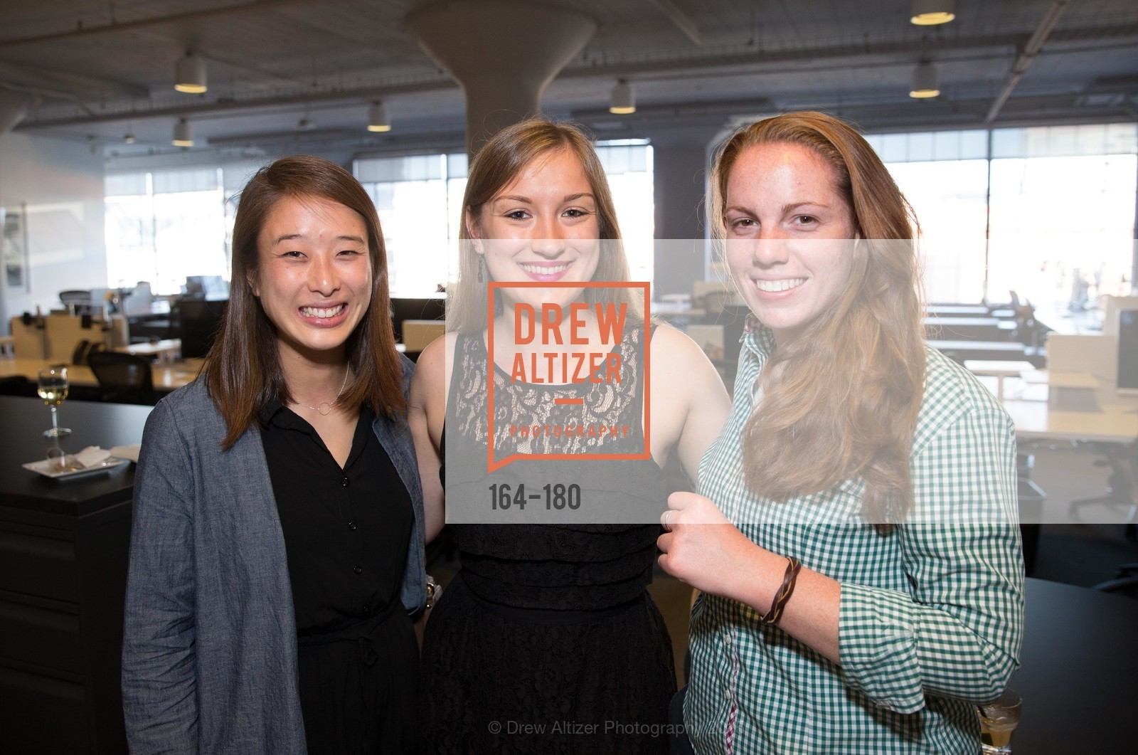 Chrissy Lee, Lydia Belanger, Megan Logan, Wired Magazine July Cover Release Celebration at New Wired Office, Wired Magazine Offices. 520 3rd Street, June 24th, 2015,Drew Altizer, Drew Altizer Photography, full-service agency, private events, San Francisco photographer, photographer california