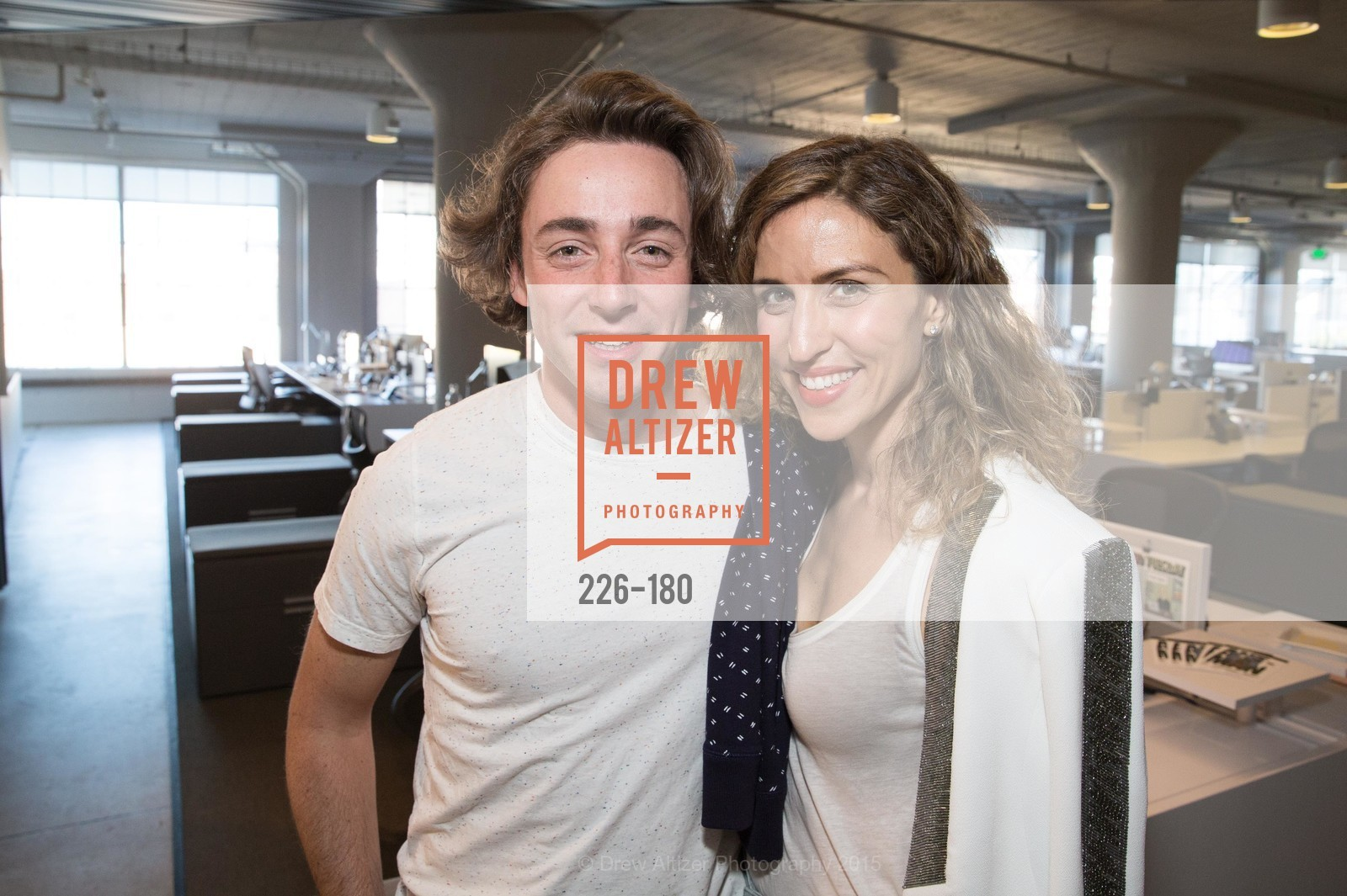 Corey Perkins, Amy Dadich, Wired Magazine July Cover Release Celebration at New Wired Office, Wired Magazine Offices. 520 3rd Street, June 24th, 2015,Drew Altizer, Drew Altizer Photography, full-service agency, private events, San Francisco photographer, photographer california