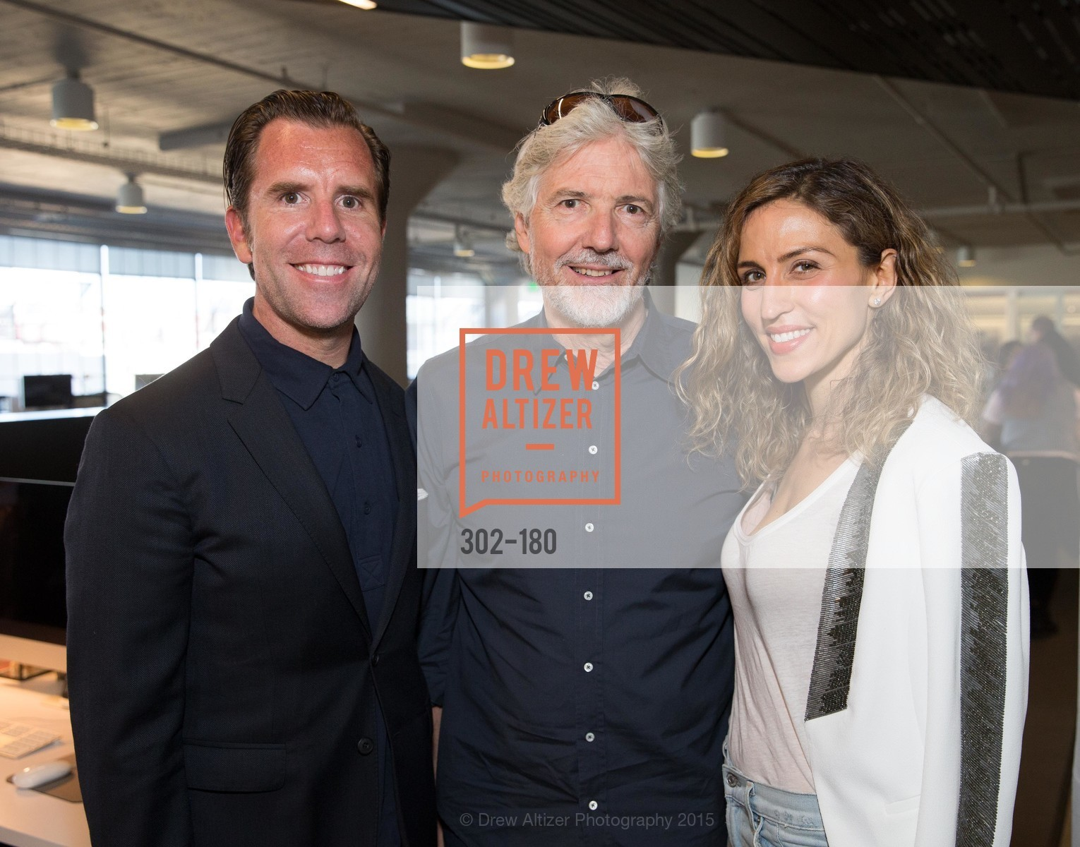 Scott Dadich, Louis Rossetto, Amy Dadich, Wired Magazine July Cover Release Celebration at New Wired Office, Wired Magazine Offices. 520 3rd Street, June 24th, 2015,Drew Altizer, Drew Altizer Photography, full-service agency, private events, San Francisco photographer, photographer california