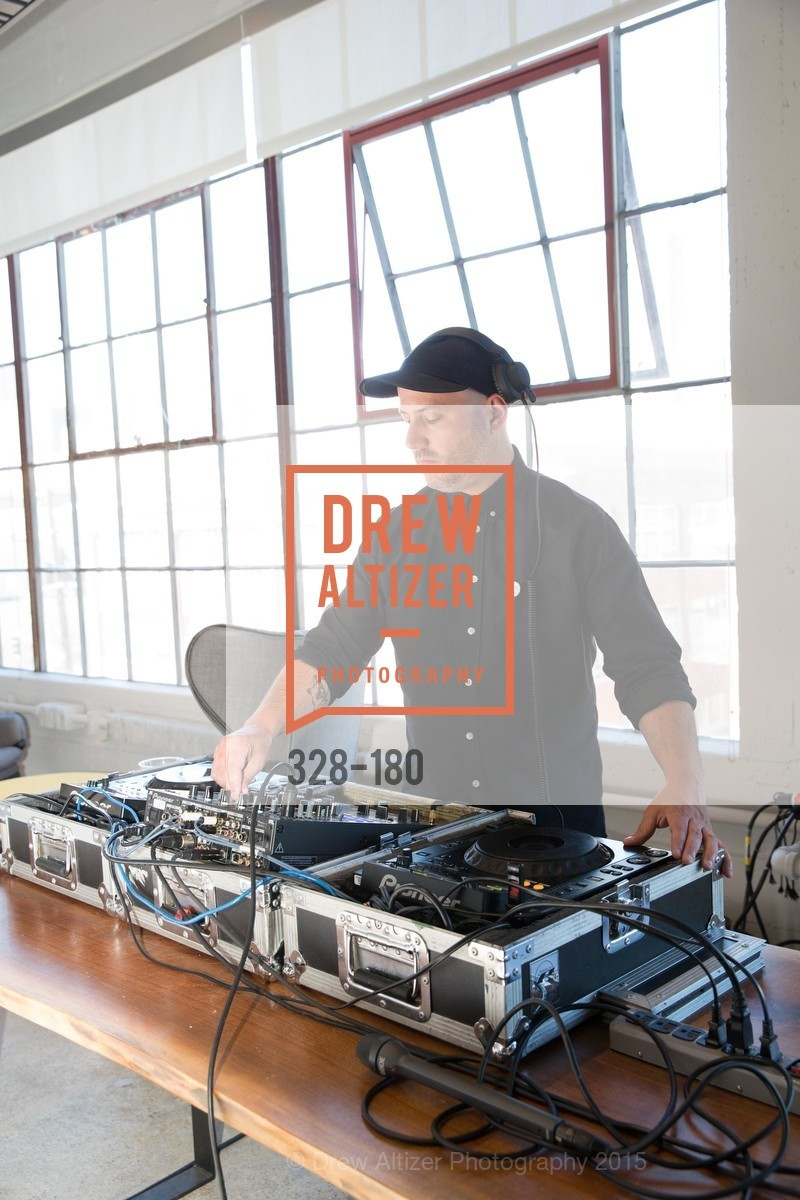 Dj, Wired Magazine July Cover Release Celebration at New Wired Office, Wired Magazine Offices. 520 3rd Street, June 24th, 2015,Drew Altizer, Drew Altizer Photography, full-service agency, private events, San Francisco photographer, photographer california