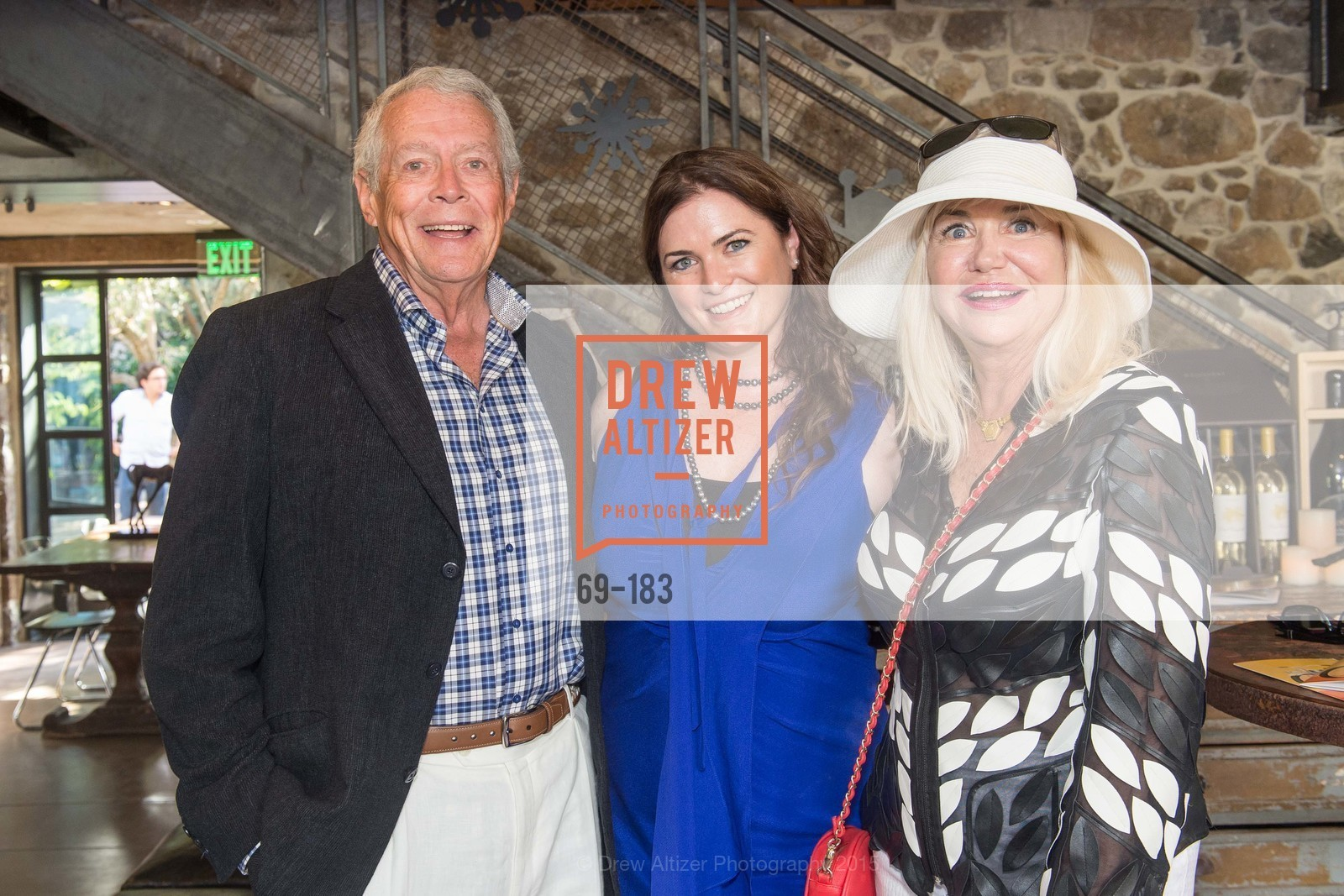 Don Winter, Jenn Hagan, Katherine Winter, Oyster Cup Polo Tournament Preview Party Hosted by Cerro Pampa Polo Club and Stick & Ball, Ma(i)sonry. 6711 Washington St, June 25th, 2015,Drew Altizer, Drew Altizer Photography, full-service agency, private events, San Francisco photographer, photographer california