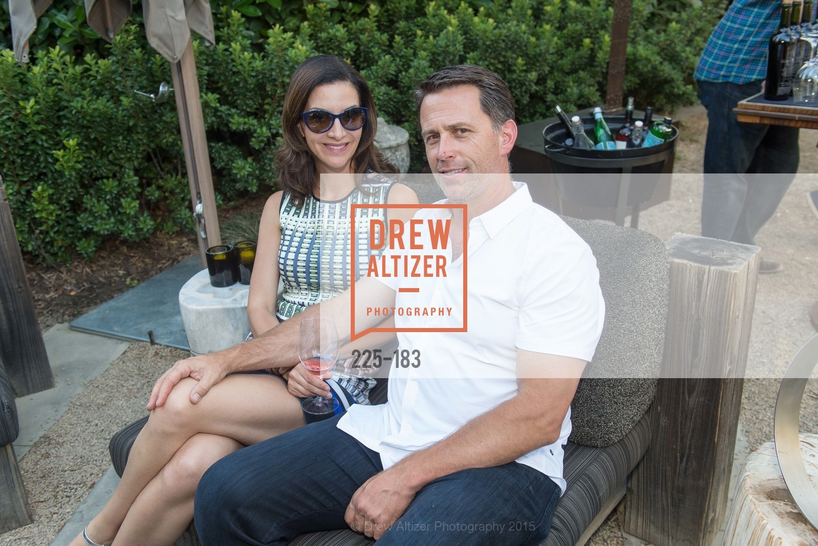 Hillary Marino, Andy Ryan, Oyster Cup Polo Tournament Preview Party Hosted by Cerro Pampa Polo Club and Stick & Ball, Ma(i)sonry. 6711 Washington St, June 25th, 2015