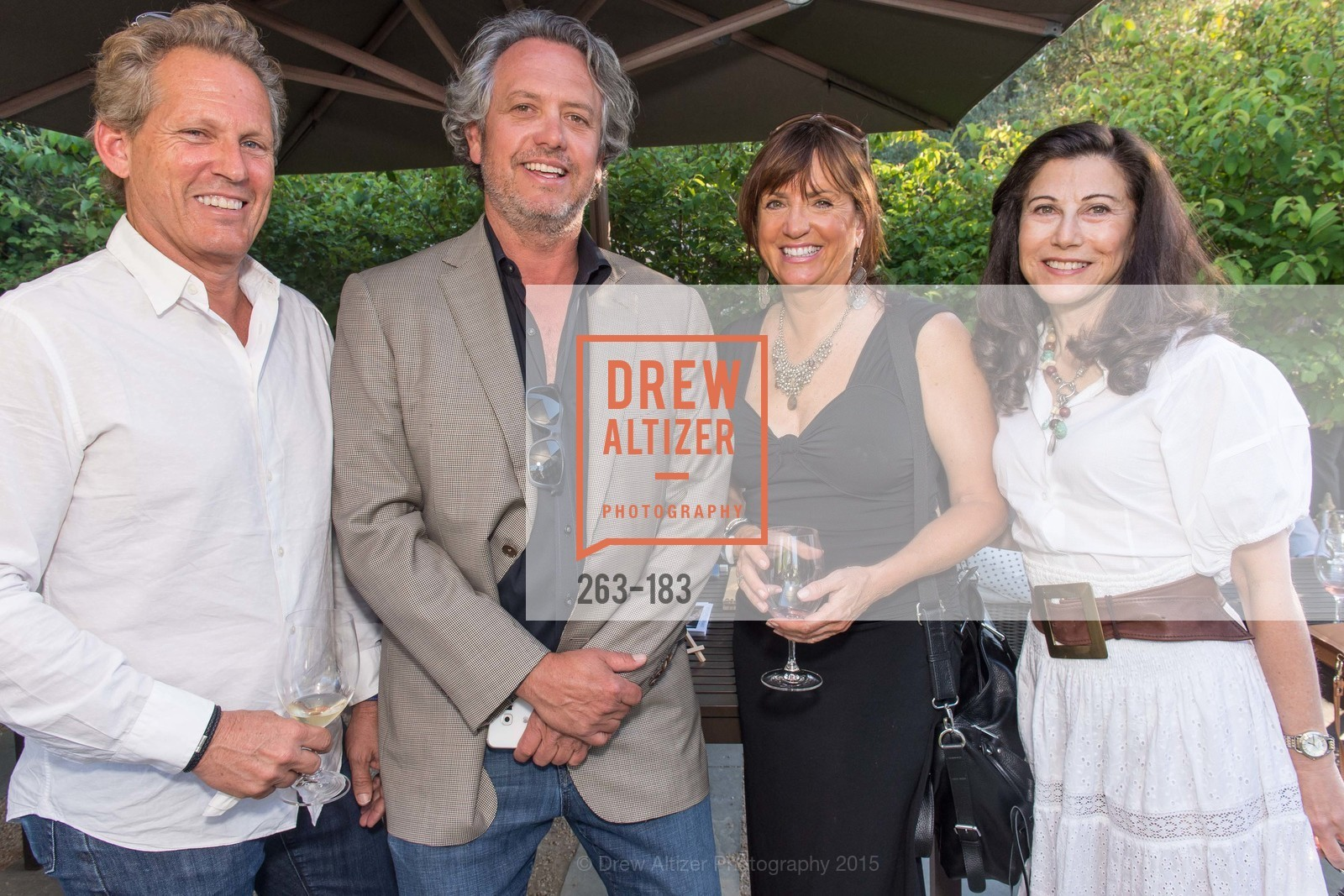 Gary Laforge, Randy Eckhardt, Dana Cappiello, Adrienne Mally, Oyster Cup Polo Tournament Preview Party Hosted by Cerro Pampa Polo Club and Stick & Ball, Ma(i)sonry. 6711 Washington St, June 25th, 2015,Drew Altizer, Drew Altizer Photography, full-service agency, private events, San Francisco photographer, photographer california