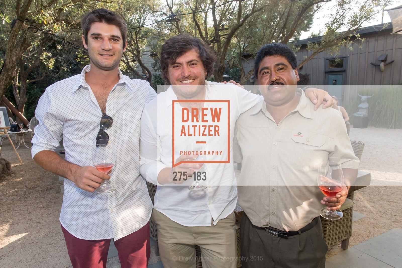 Ignacio Deldour, Toto Socas, Juan Torres, Photo #275-183
