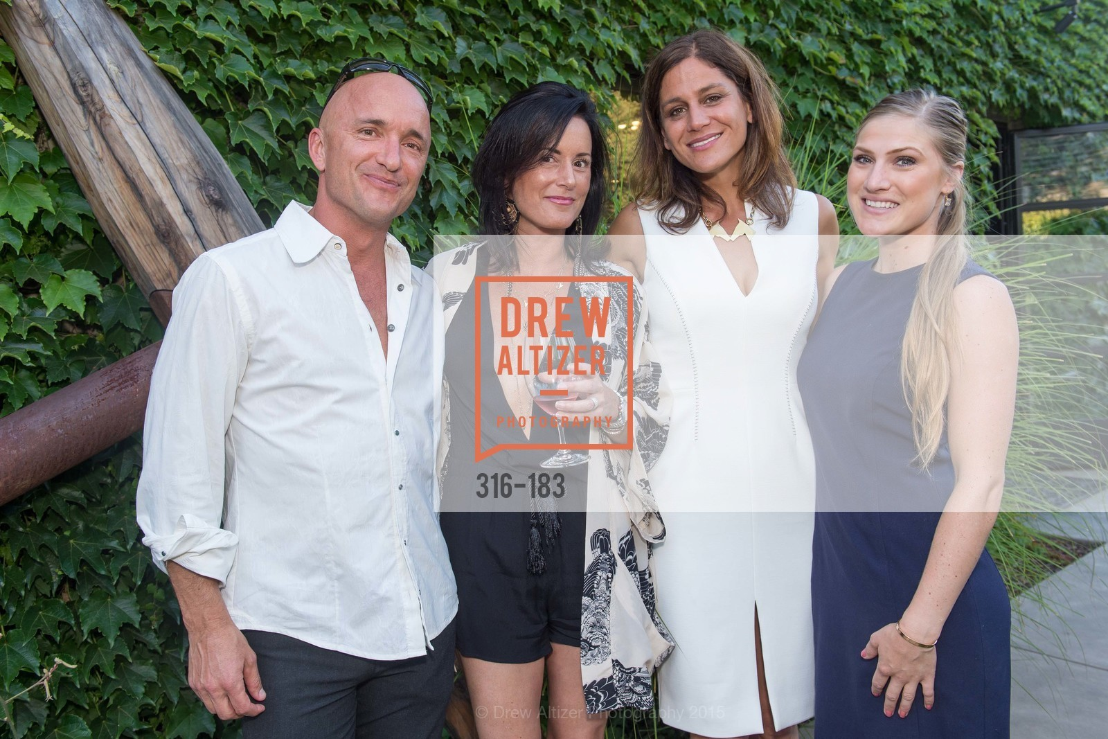 David DuPont, Tara Schon, Elizabeth Welborn, Sarah Everton, Oyster Cup Polo Tournament Preview Party Hosted by Cerro Pampa Polo Club and Stick & Ball, Ma(i)sonry. 6711 Washington St, June 25th, 2015,Drew Altizer, Drew Altizer Photography, full-service agency, private events, San Francisco photographer, photographer california