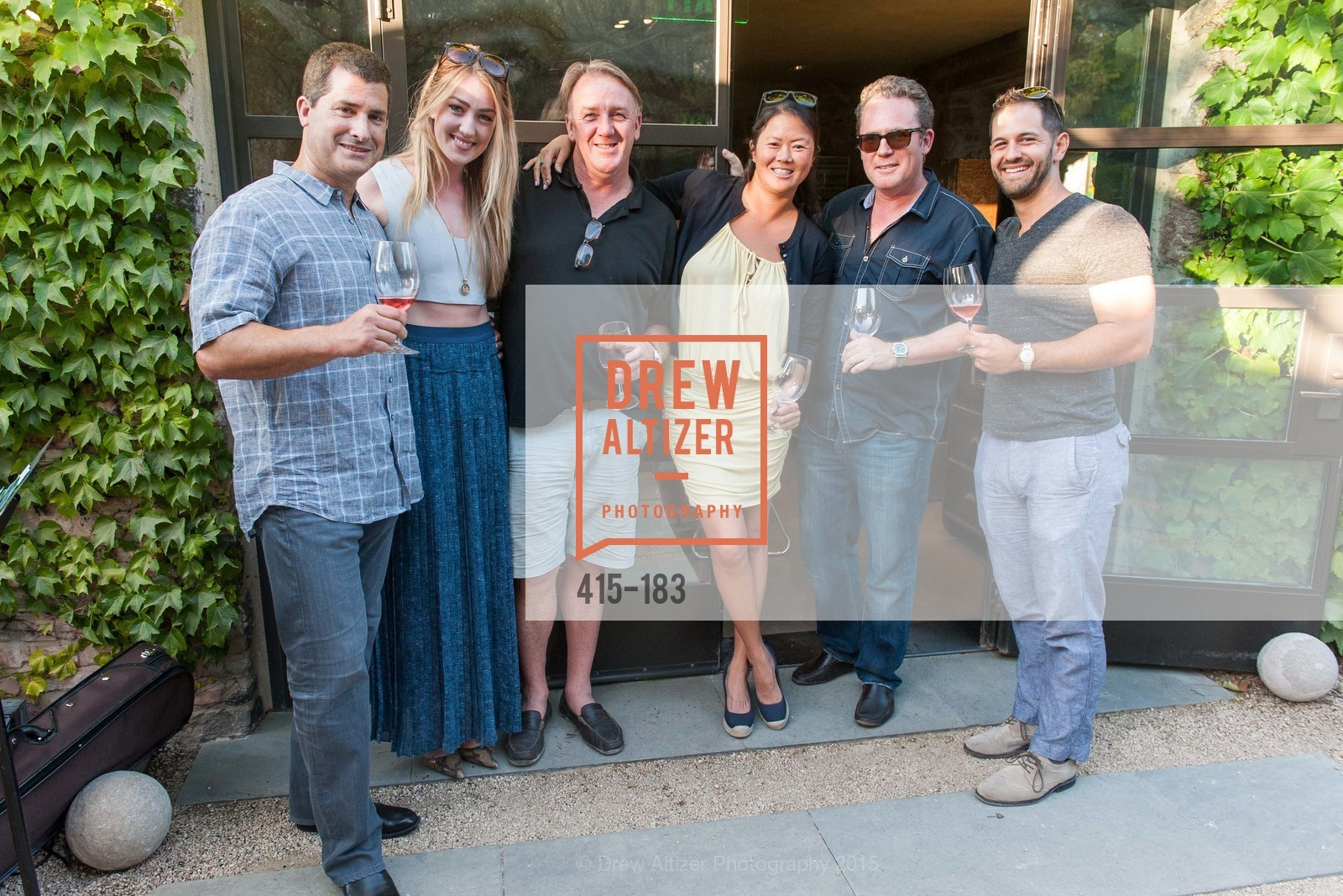 Steve Everis, Alison Debilla, Sean Larkin, Karen Laz, Scott Lewis, Jaron Matliopoulos, Oyster Cup Polo Tournament Preview Party Hosted by Cerro Pampa Polo Club and Stick & Ball, Ma(i)sonry. 6711 Washington St, June 25th, 2015,Drew Altizer, Drew Altizer Photography, full-service agency, private events, San Francisco photographer, photographer california
