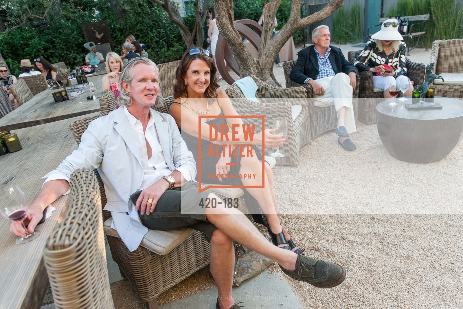 Jack Leaft, Patricia Decker, Oyster Cup Polo Tournament Preview Party Hosted by Cerro Pampa Polo Club and Stick & Ball, Ma(i)sonry. 6711 Washington St, June 25th, 2015,Drew Altizer, Drew Altizer Photography, full-service agency, private events, San Francisco photographer, photographer california