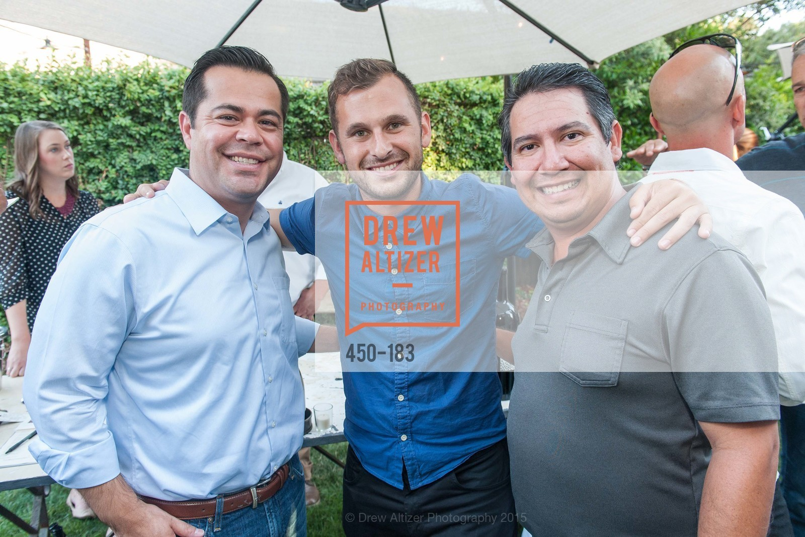 Ritchie Fernandez, Mikael Tigrett, Tony Zuniga, Oyster Cup Polo Tournament Preview Party Hosted by Cerro Pampa Polo Club and Stick & Ball, Ma(i)sonry. 6711 Washington St, June 25th, 2015,Drew Altizer, Drew Altizer Photography, full-service event agency, private events, San Francisco photographer, photographer California