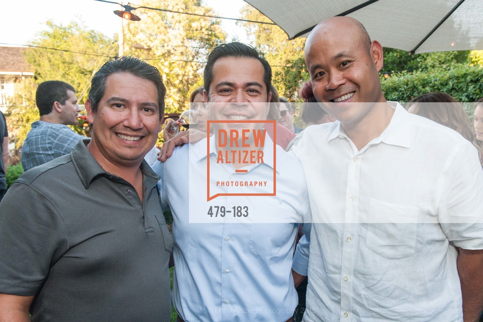 Tony Zuniga, Ritchie Fernandez, Don Sritong, Photo #479-183