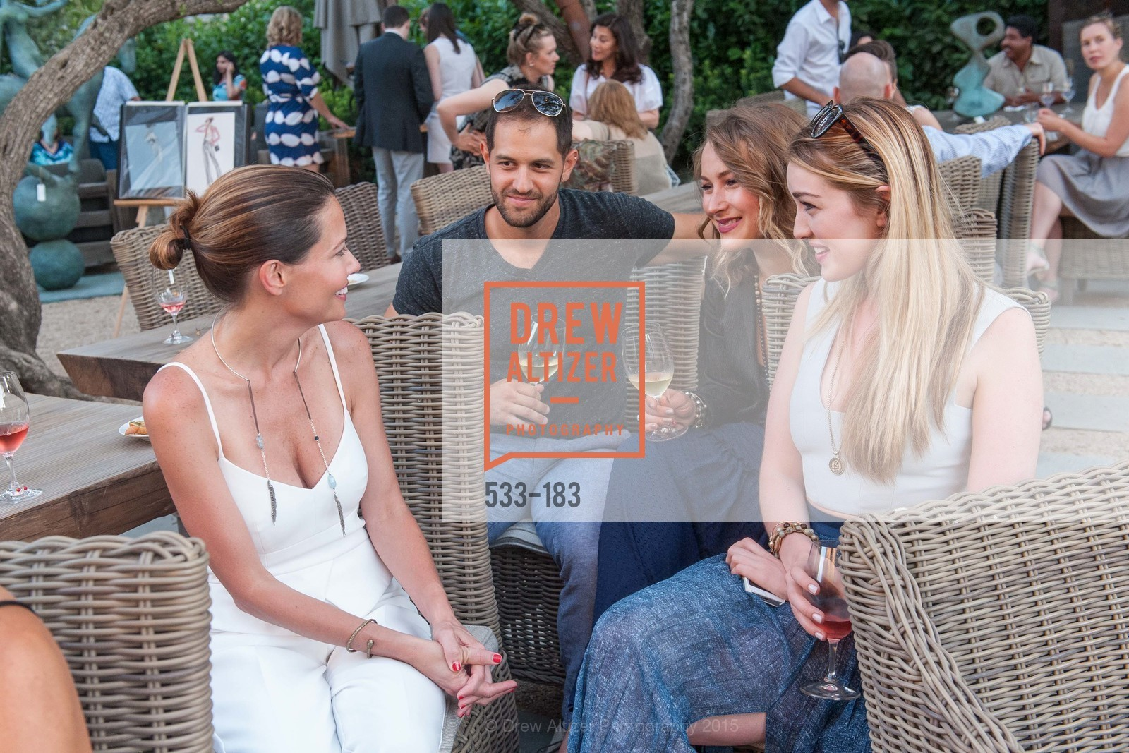 Mary Francis, Svetlana Kolesnikova, Alison Dibella, Oyster Cup Polo Tournament Preview Party Hosted by Cerro Pampa Polo Club and Stick & Ball, Ma(i)sonry. 6711 Washington St, June 25th, 2015,Drew Altizer, Drew Altizer Photography, full-service agency, private events, San Francisco photographer, photographer california