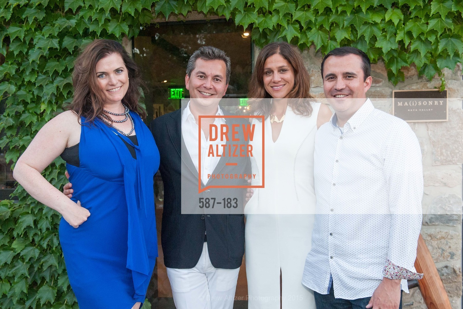 Jenn Hagan, Michael Uytengsu, Elizabeth Welborn, Jorge Jaramillo, Oyster Cup Polo Tournament Preview Party Hosted by Cerro Pampa Polo Club and Stick & Ball, Ma(i)sonry. 6711 Washington St, June 25th, 2015,Drew Altizer, Drew Altizer Photography, full-service agency, private events, San Francisco photographer, photographer california