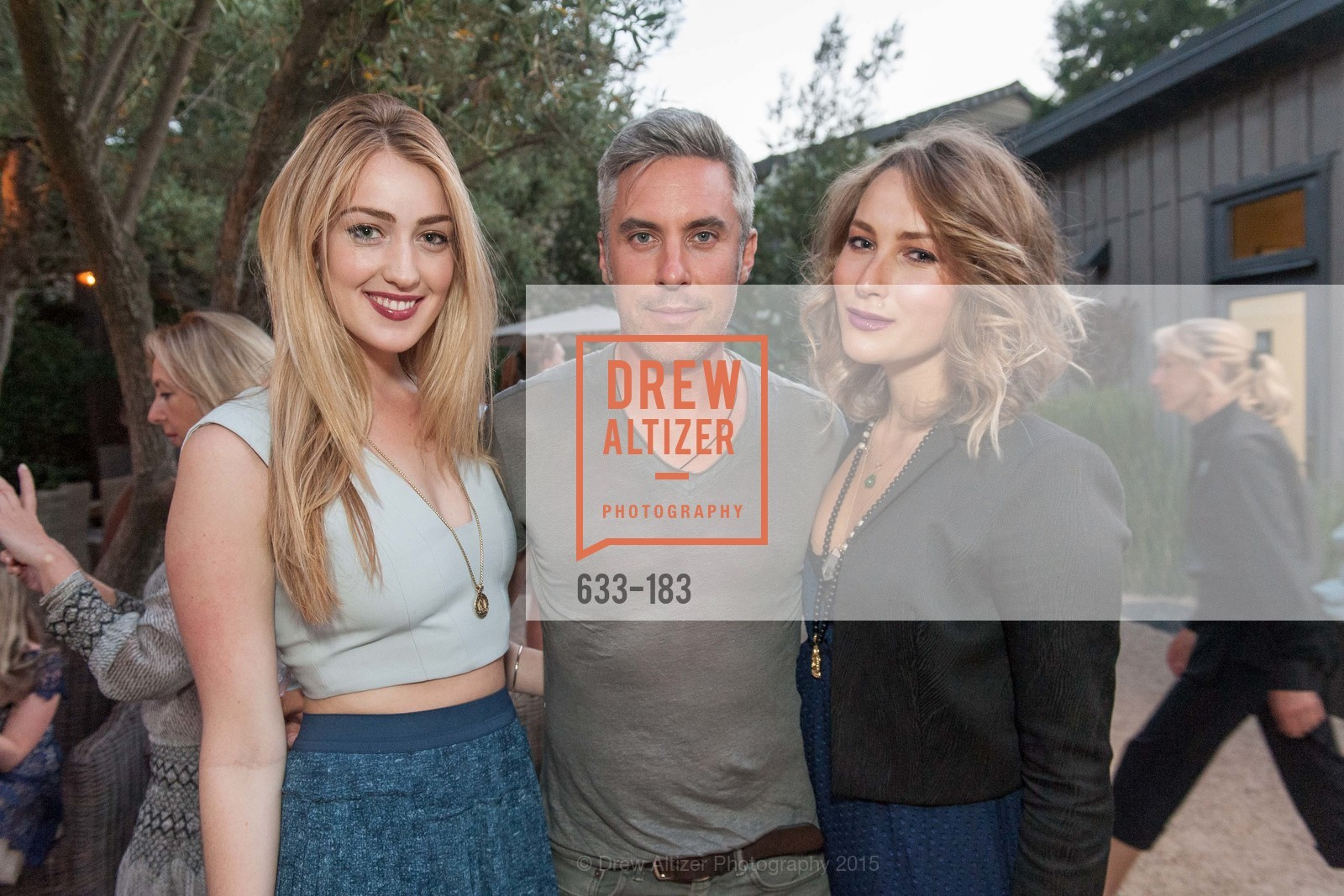 Alison Dibella, Eoin Harrington, Svetlana Kolesnikova, Oyster Cup Polo Tournament Preview Party Hosted by Cerro Pampa Polo Club and Stick & Ball, Ma(i)sonry. 6711 Washington St, June 25th, 2015,Drew Altizer, Drew Altizer Photography, full-service event agency, private events, San Francisco photographer, photographer California