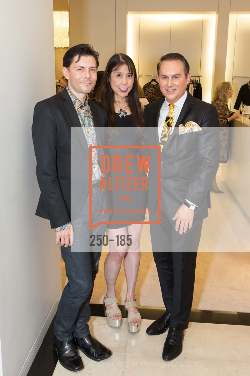 Damion Matthews, Magdalene Chan, Joel Goodrich, Fashion Fights Arthritis Launch Party at St. John, St. John Boutique. 767 Market Street, June 25th, 2015,Drew Altizer, Drew Altizer Photography, full-service agency, private events, San Francisco photographer, photographer california