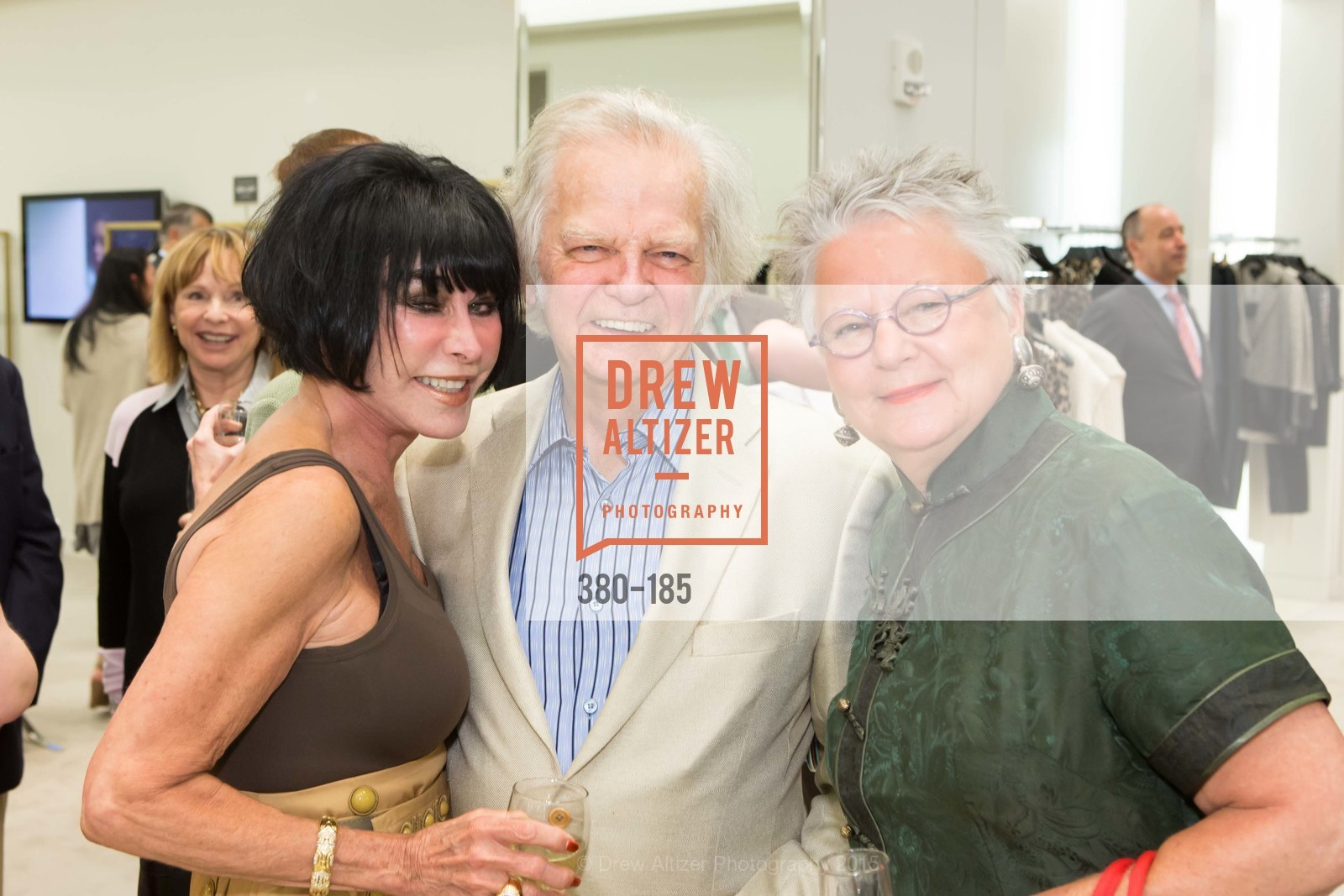 Marilyn Cabak, Michael Cabak, Trish Prior, Fashion Fights Arthritis Launch Party at St. John, St. John Boutique. 767 Market Street, June 25th, 2015,Drew Altizer, Drew Altizer Photography, full-service agency, private events, San Francisco photographer, photographer california