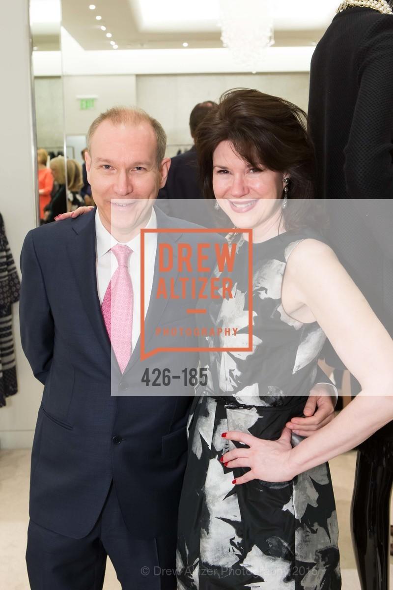 Daniel de Millais, Elaine Mellis, Fashion Fights Arthritis Launch Party at St. John, St. John Boutique. 767 Market Street, June 25th, 2015