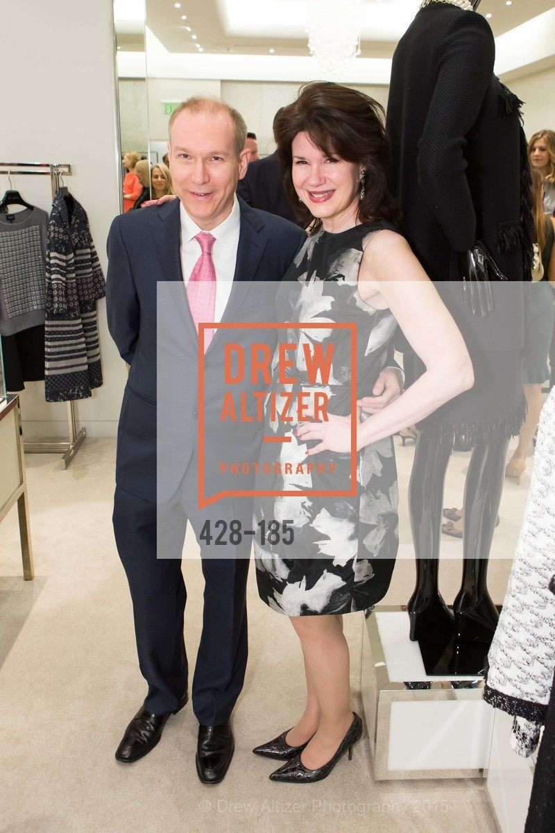 Daniel de Millais, Elaine Mellis, Fashion Fights Arthritis Launch Party at St. John, St. John Boutique. 767 Market Street, June 25th, 2015,Drew Altizer, Drew Altizer Photography, full-service agency, private events, San Francisco photographer, photographer california