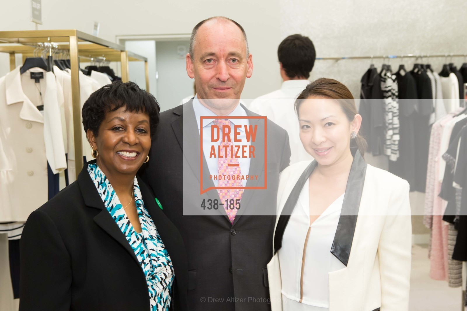 Pamela Cook, John Kirkpatrick, Carmen Ho, Fashion Fights Arthritis Launch Party at St. John, St. John Boutique. 767 Market Street, June 25th, 2015,Drew Altizer, Drew Altizer Photography, full-service agency, private events, San Francisco photographer, photographer california