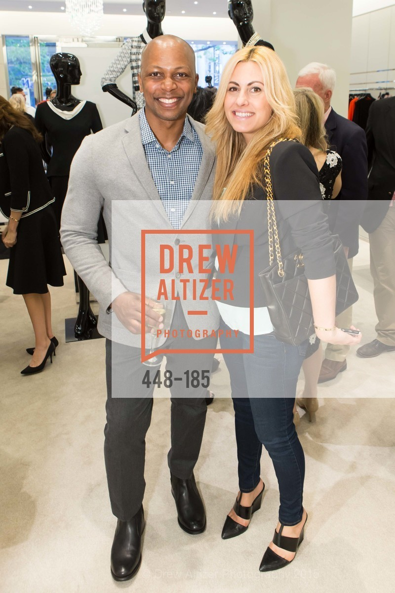 Shawn Saunders, Kimber Frankel, Fashion Fights Arthritis Launch Party at St. John, St. John Boutique. 767 Market Street, June 25th, 2015,Drew Altizer, Drew Altizer Photography, full-service agency, private events, San Francisco photographer, photographer california