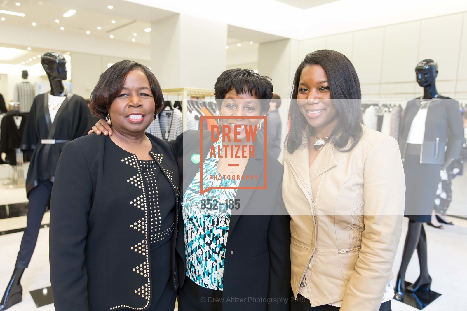 Nettie Vance, Pamela Cook, Erika Vance, Fashion Fights Arthritis Launch Party at St. John, St. John Boutique. 767 Market Street, June 25th, 2015,Drew Altizer, Drew Altizer Photography, full-service agency, private events, San Francisco photographer, photographer california