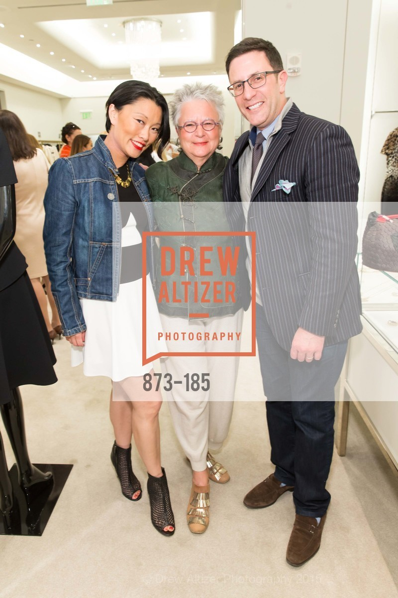 Christina White, Trish Prior, Antonio White, Fashion Fights Arthritis Launch Party at St. John, St. John Boutique. 767 Market Street, June 25th, 2015,Drew Altizer, Drew Altizer Photography, full-service agency, private events, San Francisco photographer, photographer california
