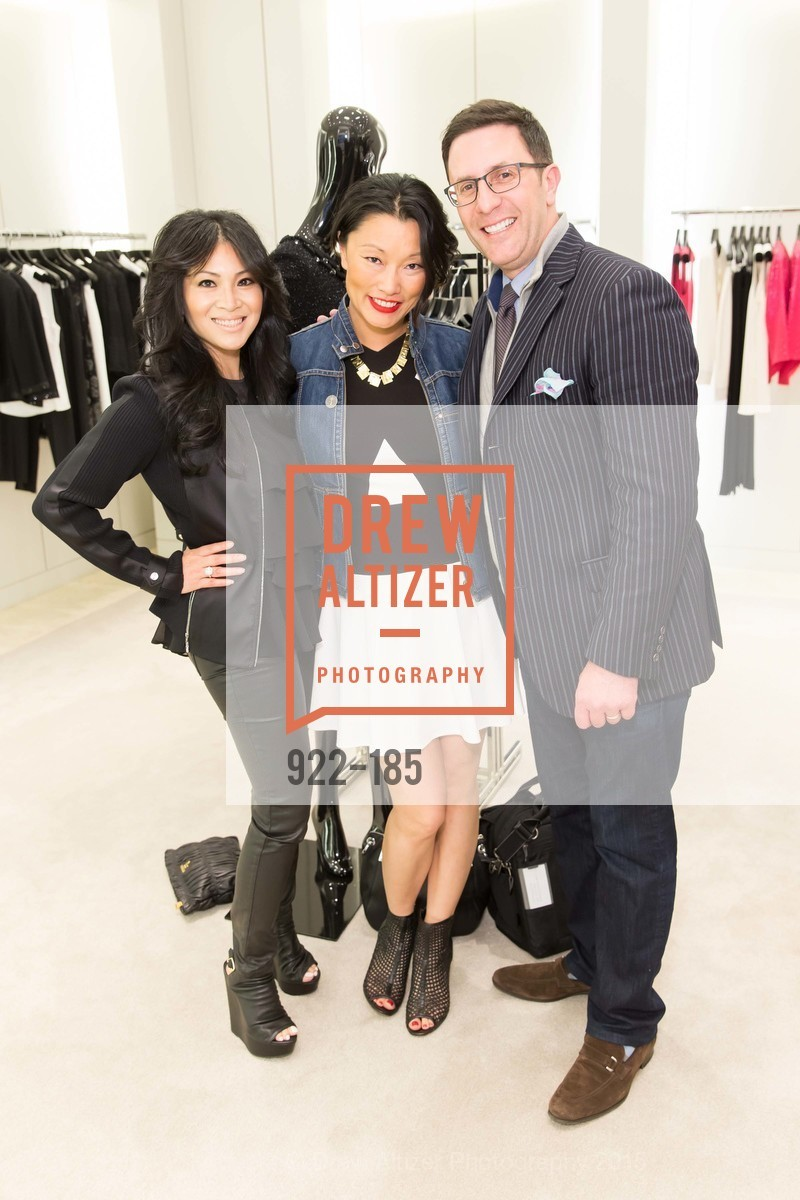 Morgan Le, Christina White, Antonio White, Fashion Fights Arthritis Launch Party at St. John, St. John Boutique. 767 Market Street, June 25th, 2015,Drew Altizer, Drew Altizer Photography, full-service agency, private events, San Francisco photographer, photographer california