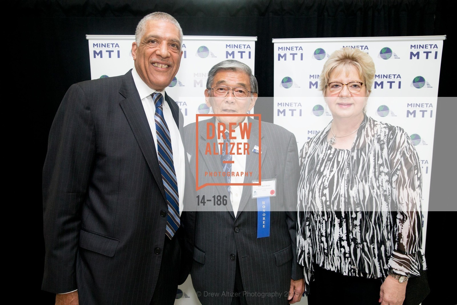 Michael Townes, Norman Mineta, Darlene Gee, 2015 MTI Awards Banquet and Convocation Exercises, San Jose State University, Student Union Ballroom. One Washington Square, June 25th, 2015,Drew Altizer, Drew Altizer Photography, full-service event agency, private events, San Francisco photographer, photographer California