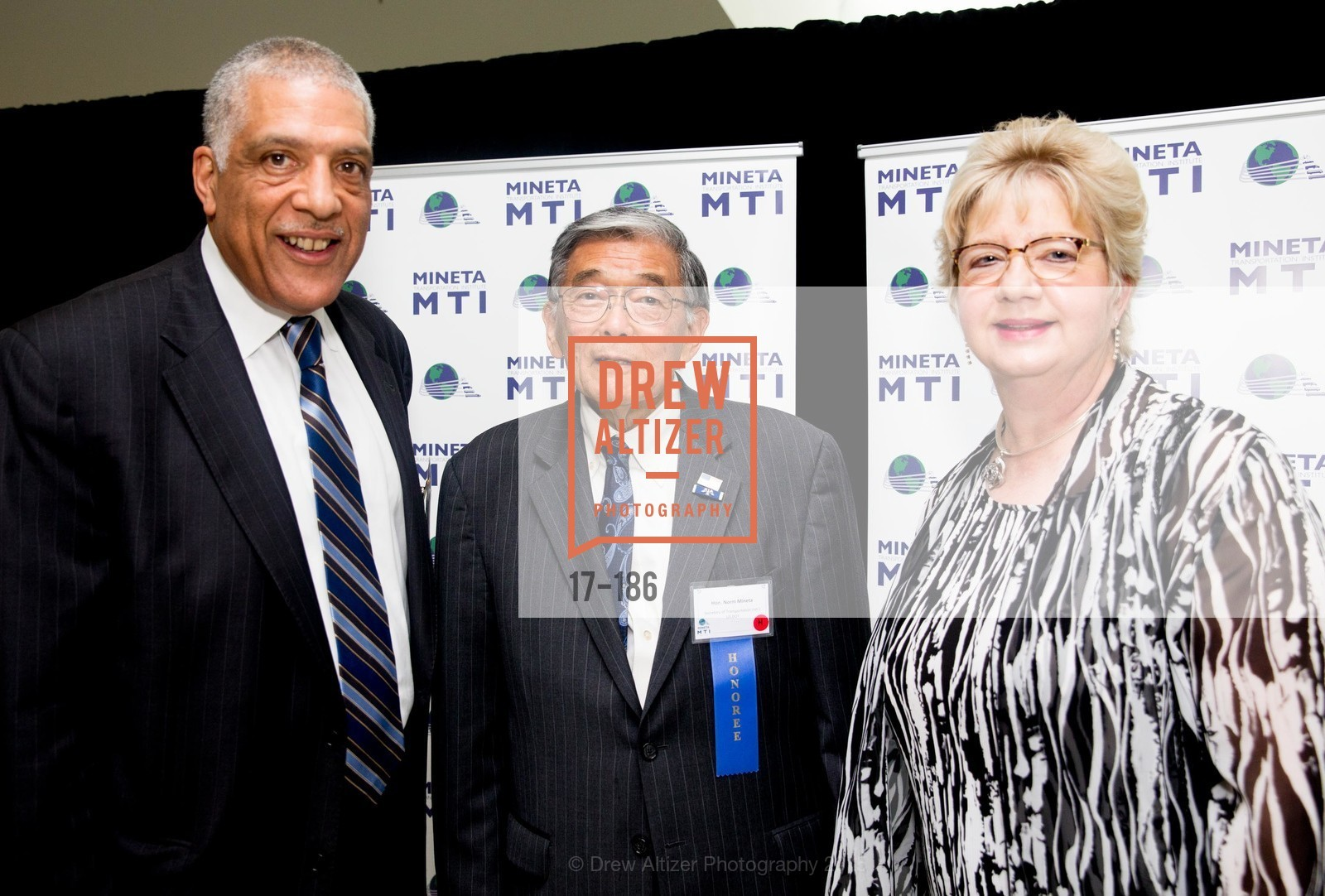 Michael Townes, Norman Mineta, Darlene Gee, 2015 MTI Awards Banquet and Convocation Exercises, San Jose State University, Student Union Ballroom. One Washington Square, June 25th, 2015,Drew Altizer, Drew Altizer Photography, full-service agency, private events, San Francisco photographer, photographer california