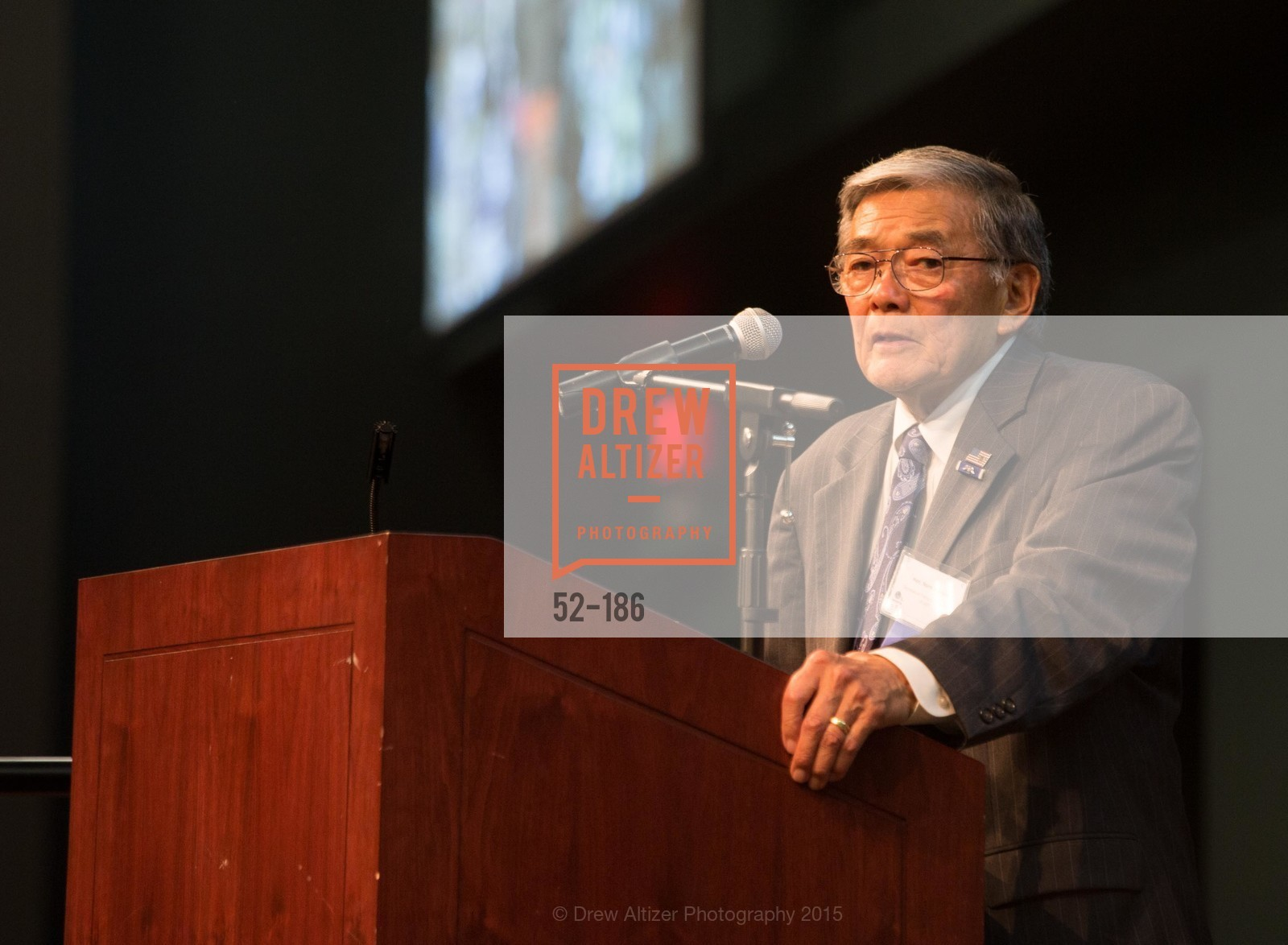 Norman Mineta, 2015 MTI Awards Banquet and Convocation Exercises, San Jose State University, Student Union Ballroom. One Washington Square, June 25th, 2015,Drew Altizer, Drew Altizer Photography, full-service agency, private events, San Francisco photographer, photographer california