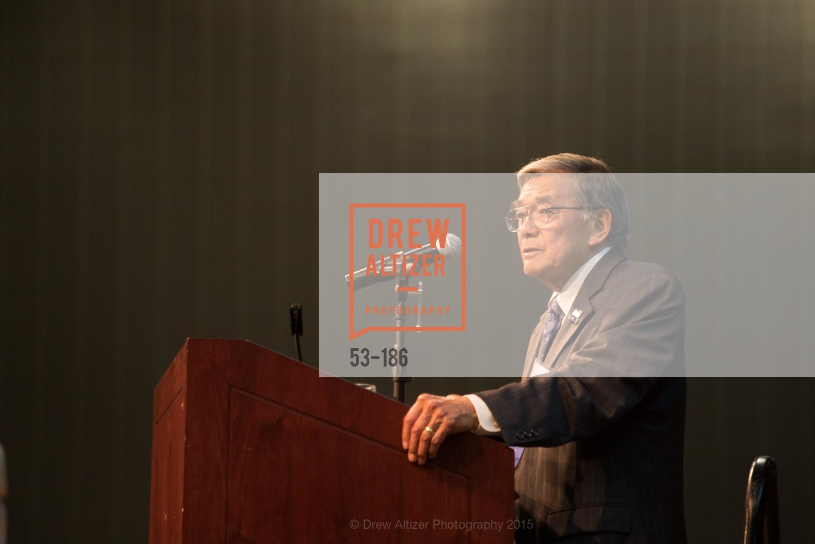 Norman Mineta, 2015 MTI Awards Banquet and Convocation Exercises, San Jose State University, Student Union Ballroom. One Washington Square, June 25th, 2015,Drew Altizer, Drew Altizer Photography, full-service event agency, private events, San Francisco photographer, photographer California
