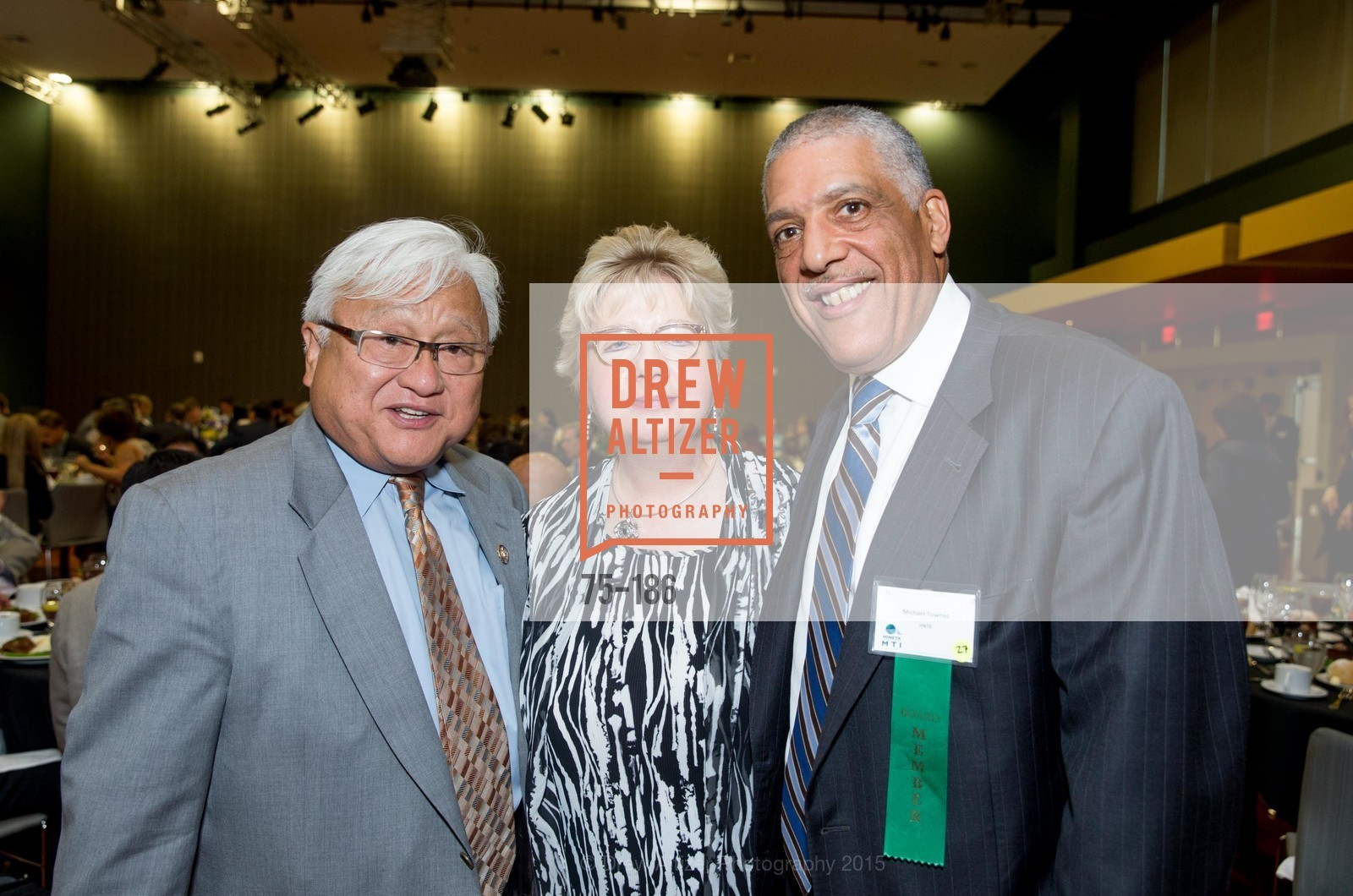 Mike Honda, Darlene Gee, Michael Townes, 2015 MTI Awards Banquet and Convocation Exercises, San Jose State University, Student Union Ballroom. One Washington Square, June 25th, 2015,Drew Altizer, Drew Altizer Photography, full-service agency, private events, San Francisco photographer, photographer california