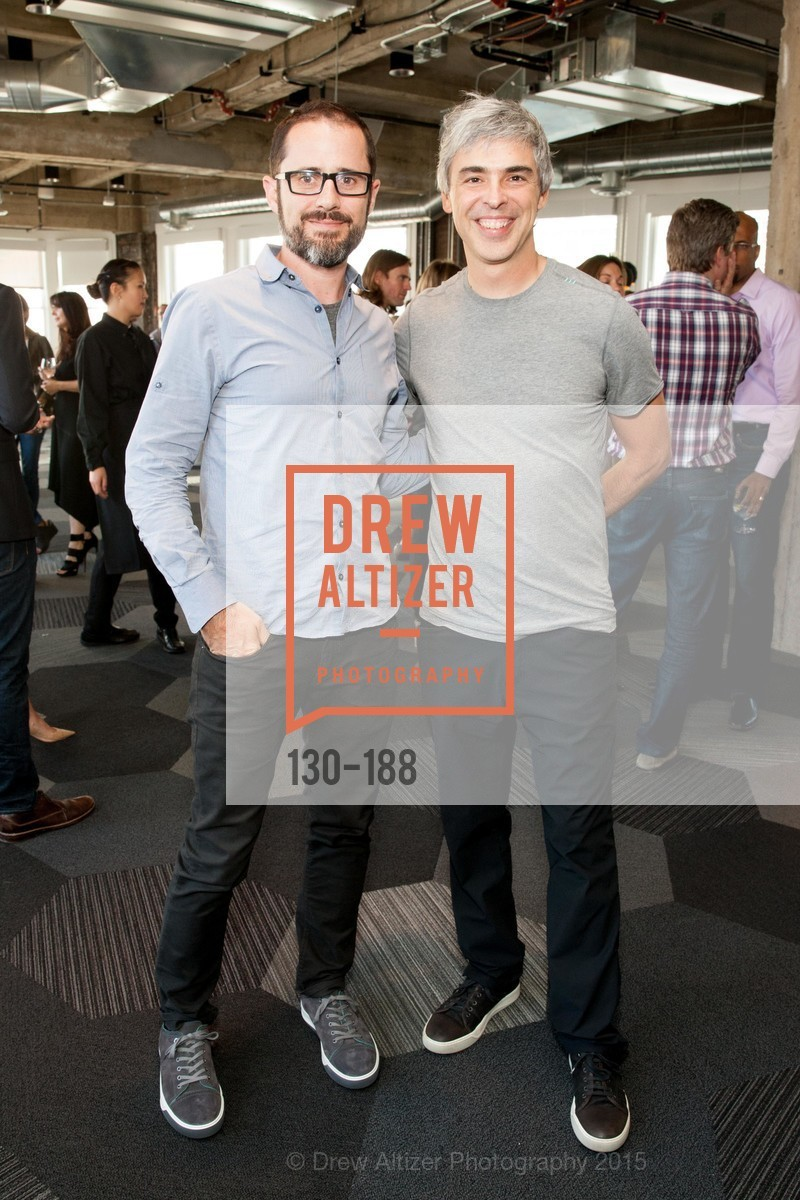 Ev Williams, Larry Page, Twigtale Celebration Hosted By Zem Joaquin, Medium. 760 Market St, June 24th, 2015,Drew Altizer, Drew Altizer Photography, full-service agency, private events, San Francisco photographer, photographer california