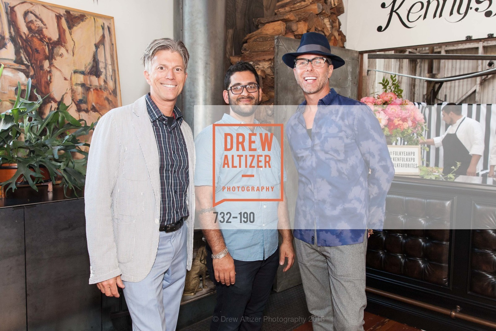 Bart Magee, Philip Buscemi, Brian Anderson, KEN FULK'S New Furniture Line Unveiling at THE MAGIC FACTORY, The Magic Factory. 310 7th St, June 25th, 2015,Drew Altizer, Drew Altizer Photography, full-service agency, private events, San Francisco photographer, photographer california