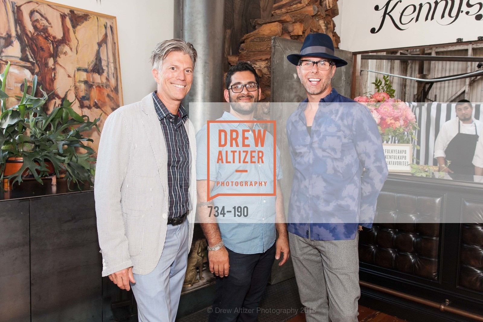 Bart Magee, Philip Buscemi, Brian Anderson, KEN FULK'S New Furniture Line Unveiling at THE MAGIC FACTORY, The Magic Factory. 310 7th St, June 25th, 2015,Drew Altizer, Drew Altizer Photography, full-service event agency, private events, San Francisco photographer, photographer California
