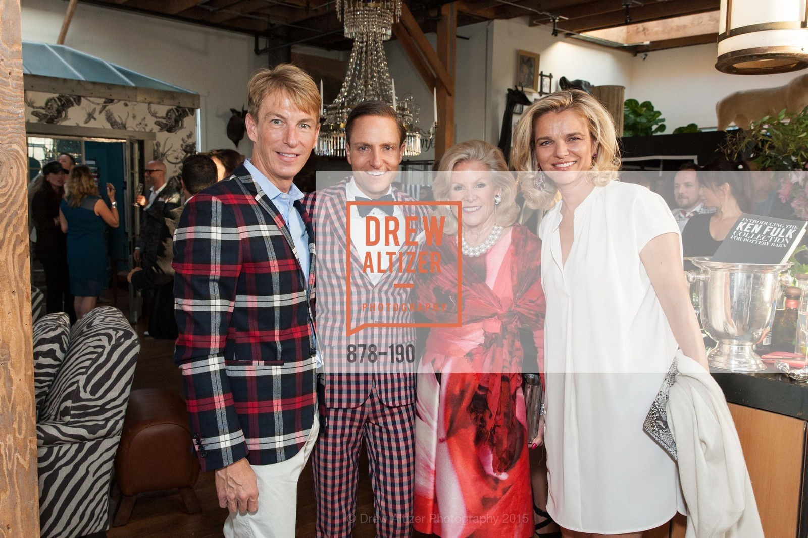 Jack Calhoun, Ken Fulk, Dede Wilsey, Leigh Matthes, KEN FULK'S New Furniture Line Unveiling at THE MAGIC FACTORY, The Magic Factory. 310 7th St, June 25th, 2015,Drew Altizer, Drew Altizer Photography, full-service agency, private events, San Francisco photographer, photographer california