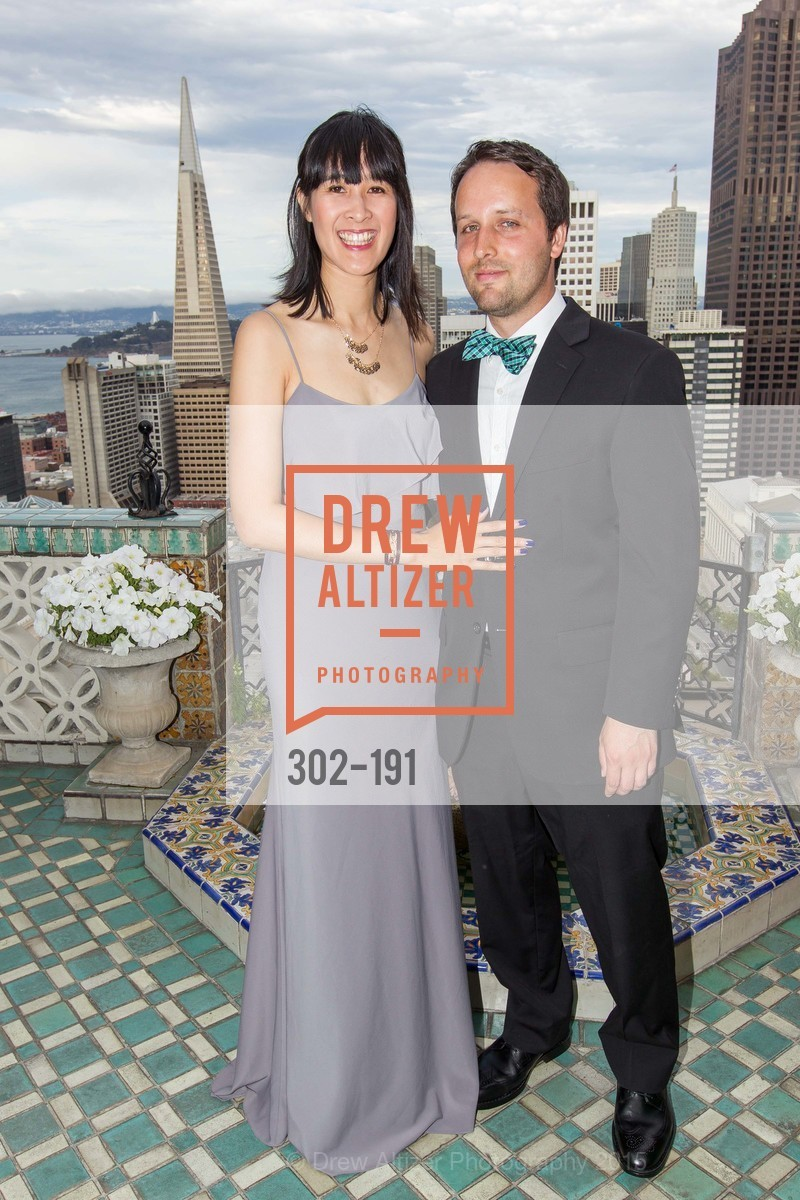 Tinna Ho, Ryan Valentin, Spinsters of San Francisco Annual Ball 2015, Penthouse at the Fairmont San Francisco (950 Mason Street). 950 Mason Street, June 28th, 2015
