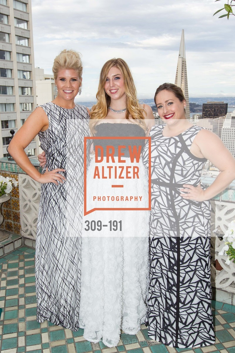 Laura Davis, Alyssa Nordstrom, Kelsey Luoma, Spinsters of San Francisco Annual Ball 2015, Penthouse at the Fairmont San Francisco (950 Mason Street). 950 Mason Street, June 28th, 2015,Drew Altizer, Drew Altizer Photography, full-service agency, private events, San Francisco photographer, photographer california