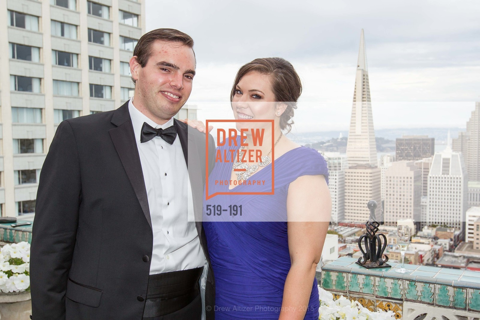 Adam Inferrera, Mackenzie Vaillancourt, Spinsters of San Francisco Annual Ball 2015, Penthouse at the Fairmont San Francisco (950 Mason Street). 950 Mason Street, June 28th, 2015,Drew Altizer, Drew Altizer Photography, full-service agency, private events, San Francisco photographer, photographer california